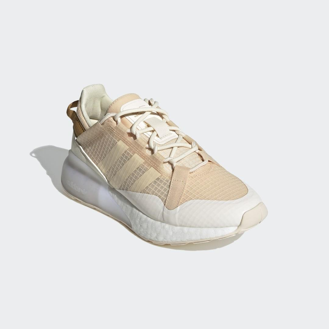 ZX 2K Boost Pure Shoes Halo Amber