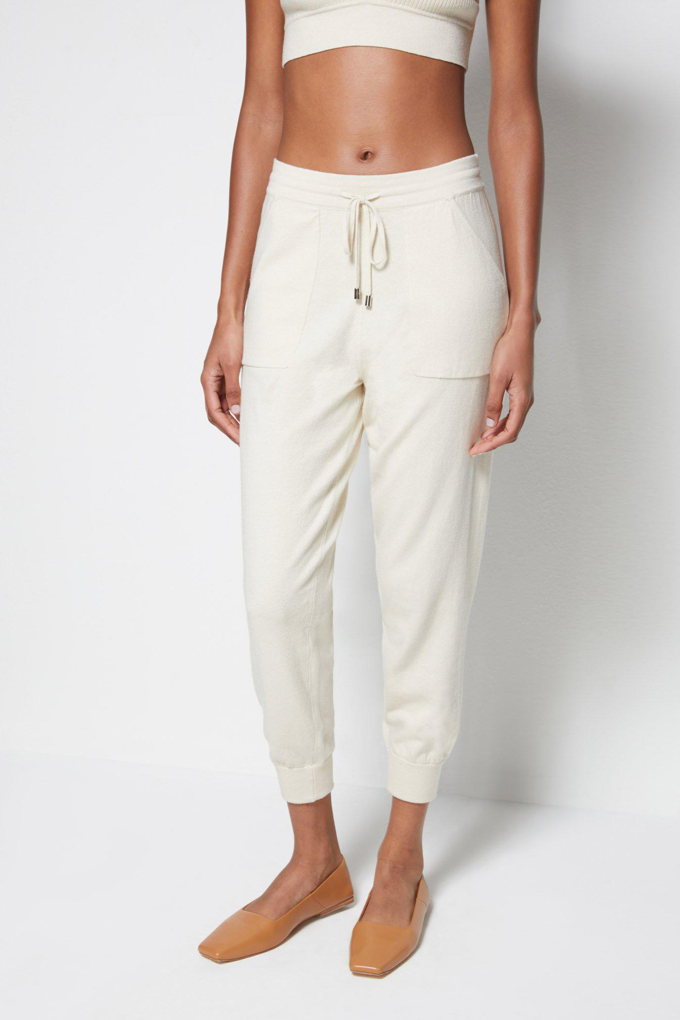 Off-Duty Cashmere Joggers 1