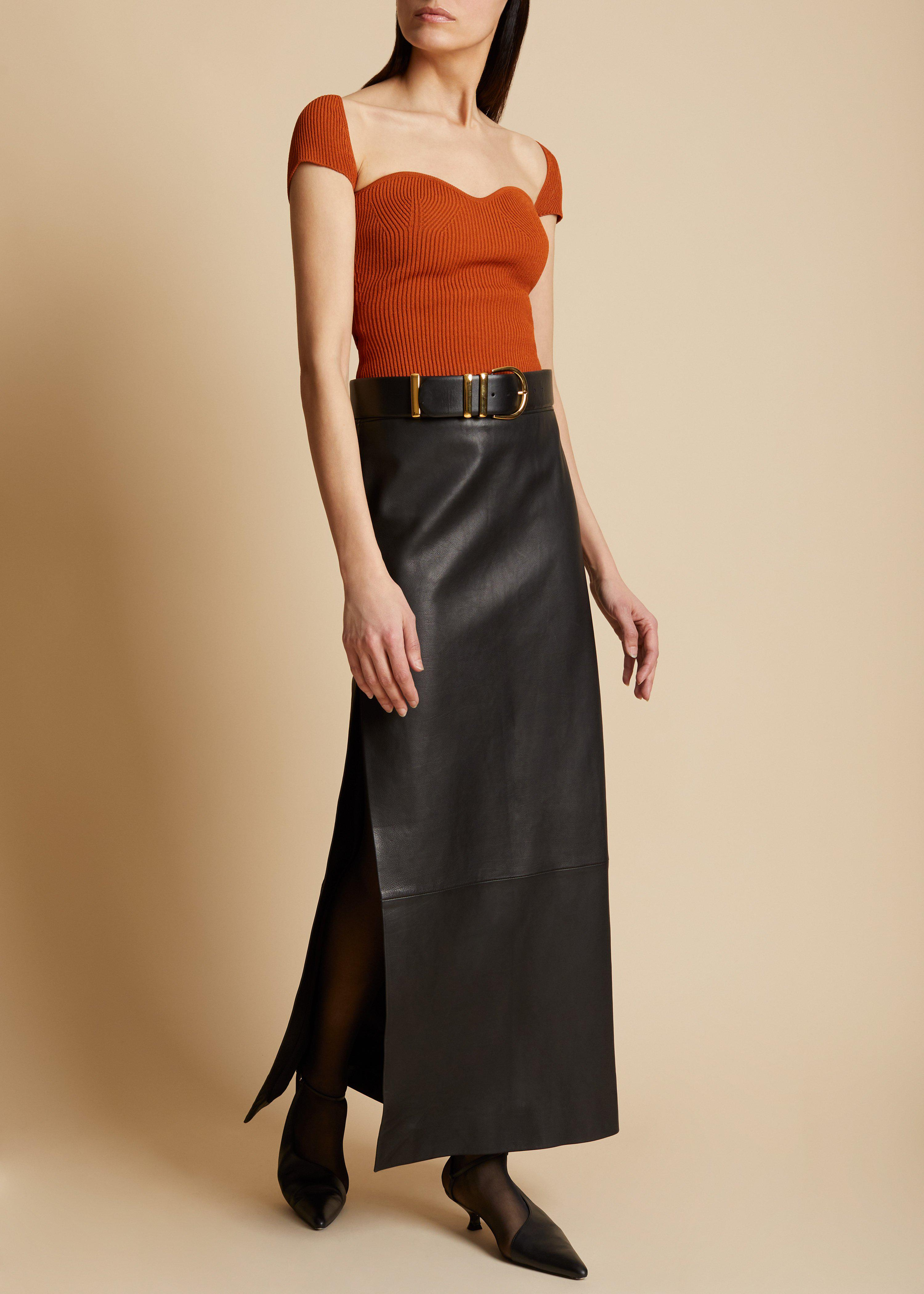 The Ista Top in Sienna 1