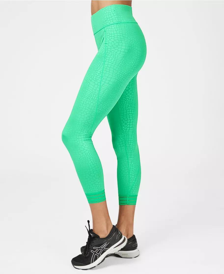 All Day Embossed 7/8 Workout Leggings