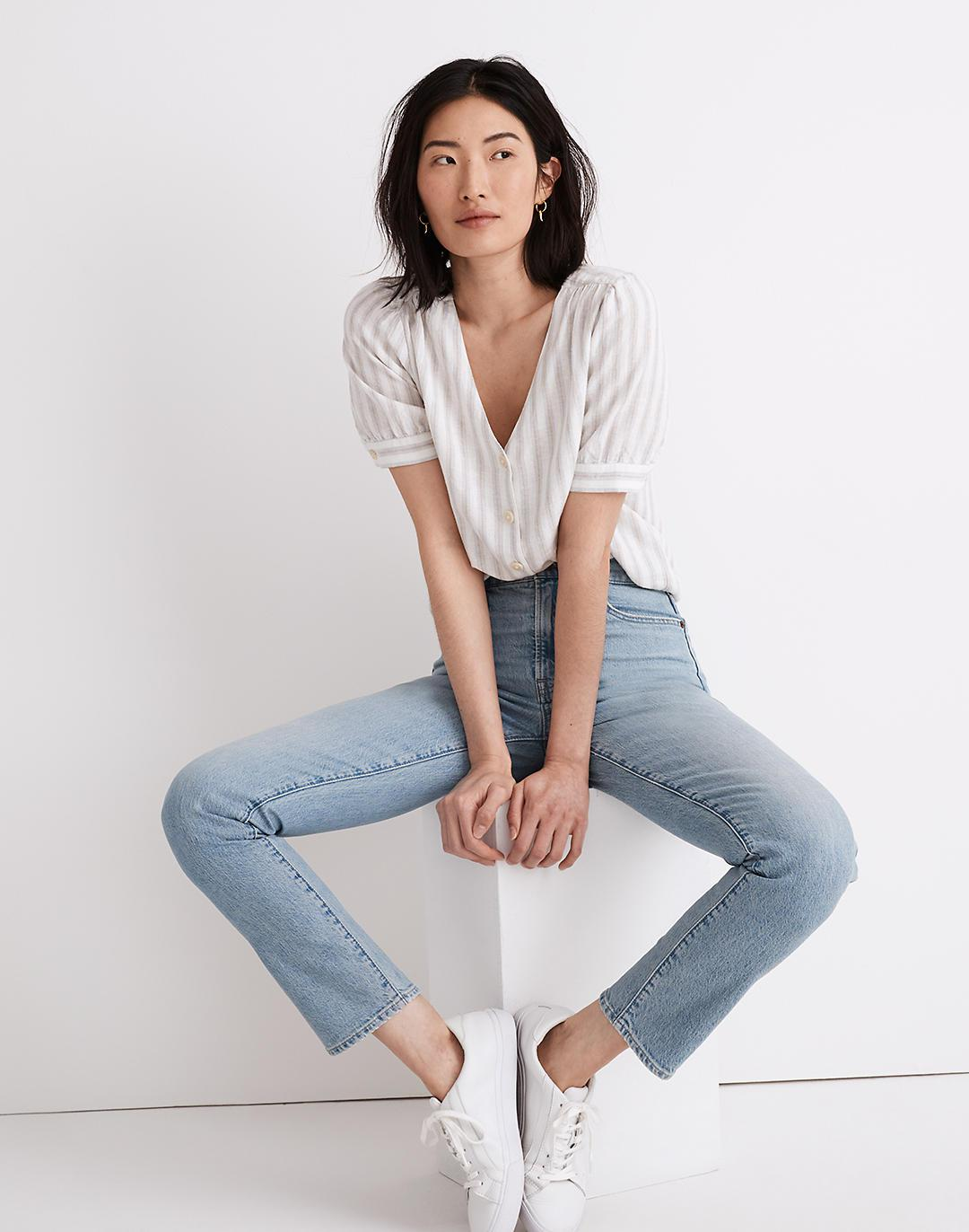 The Perfect Vintage Full-Length Jean in Fenton Wash