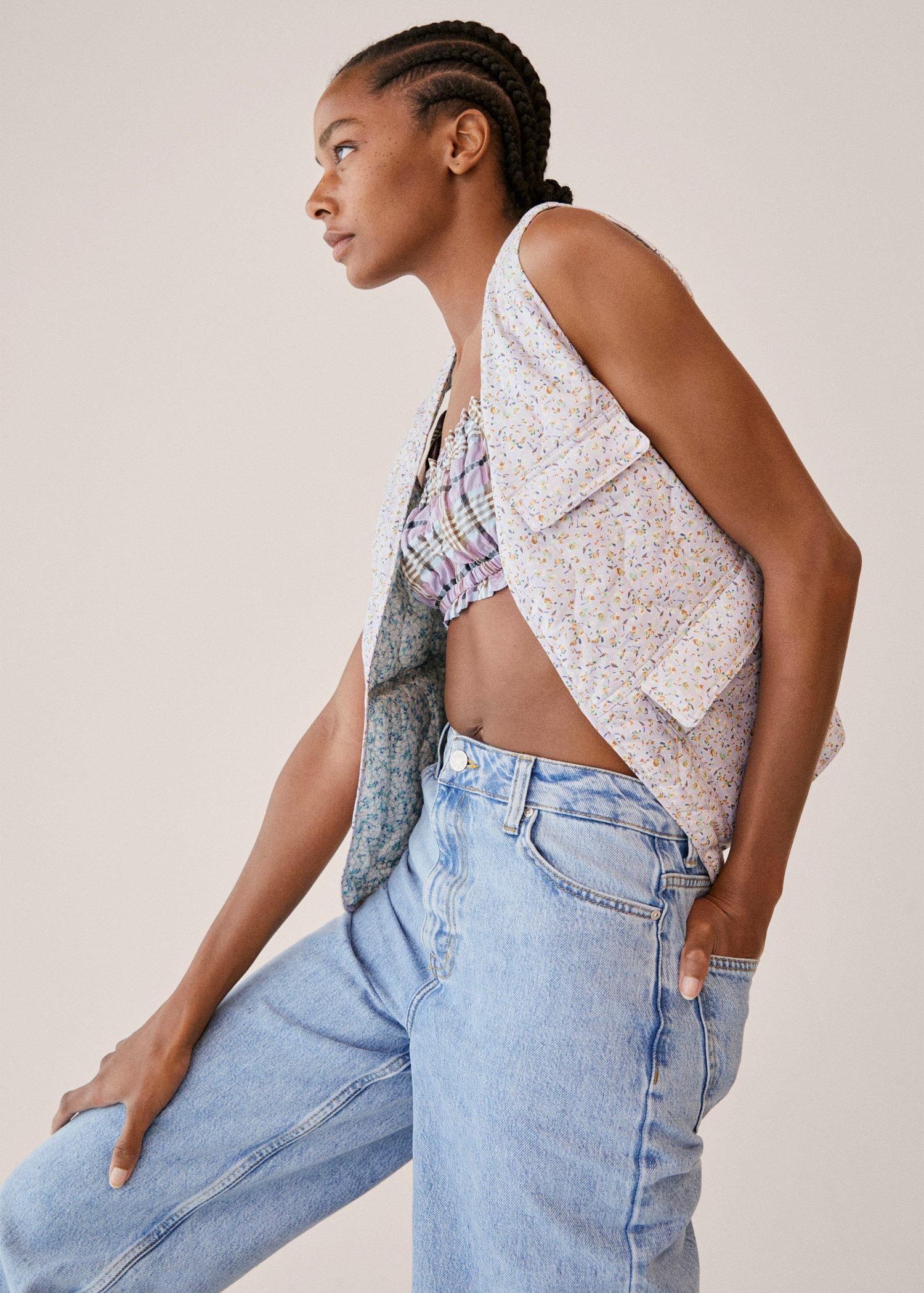 Cotton quilted gilet 5