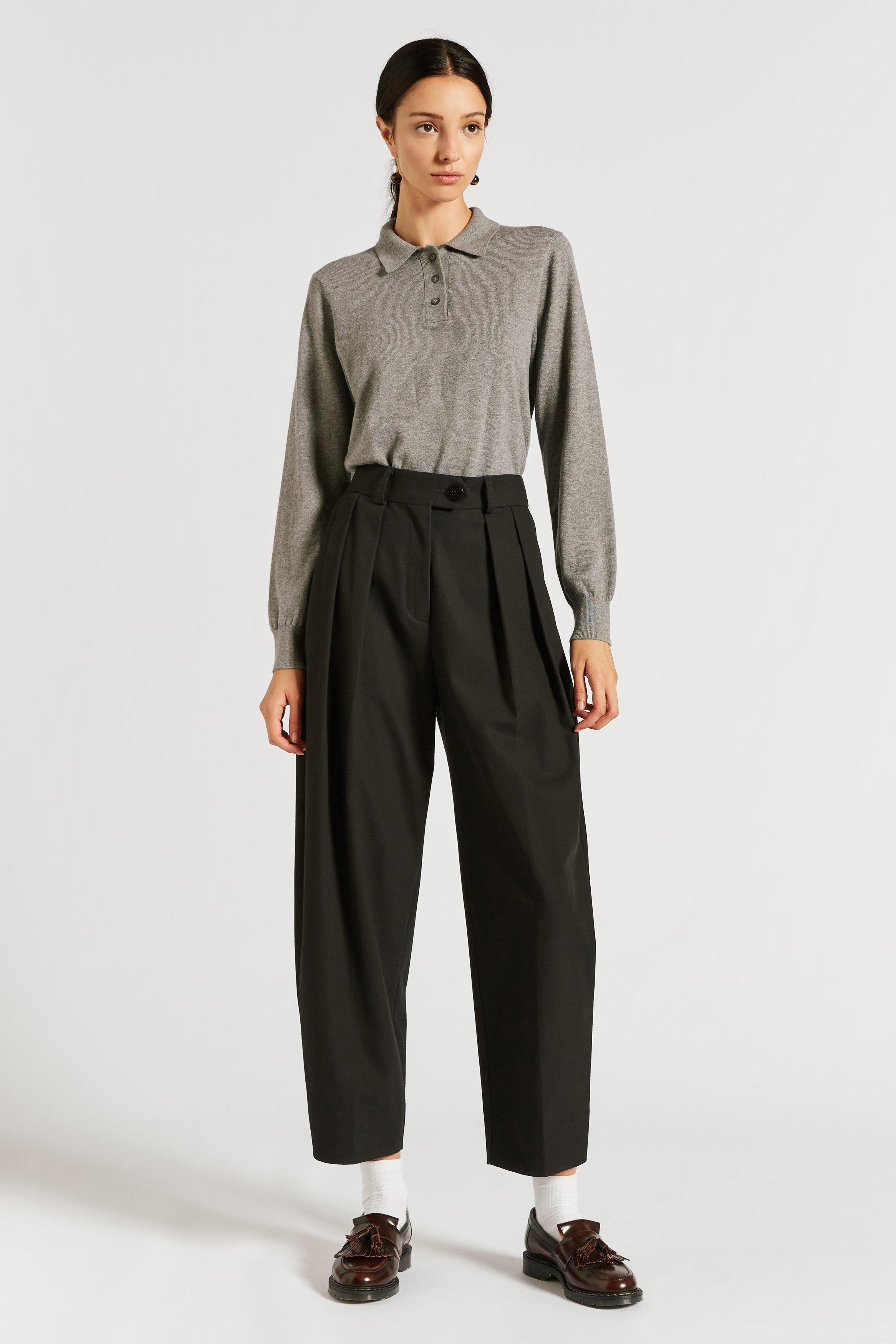 Spencer Pleat Front Cocoon Pant