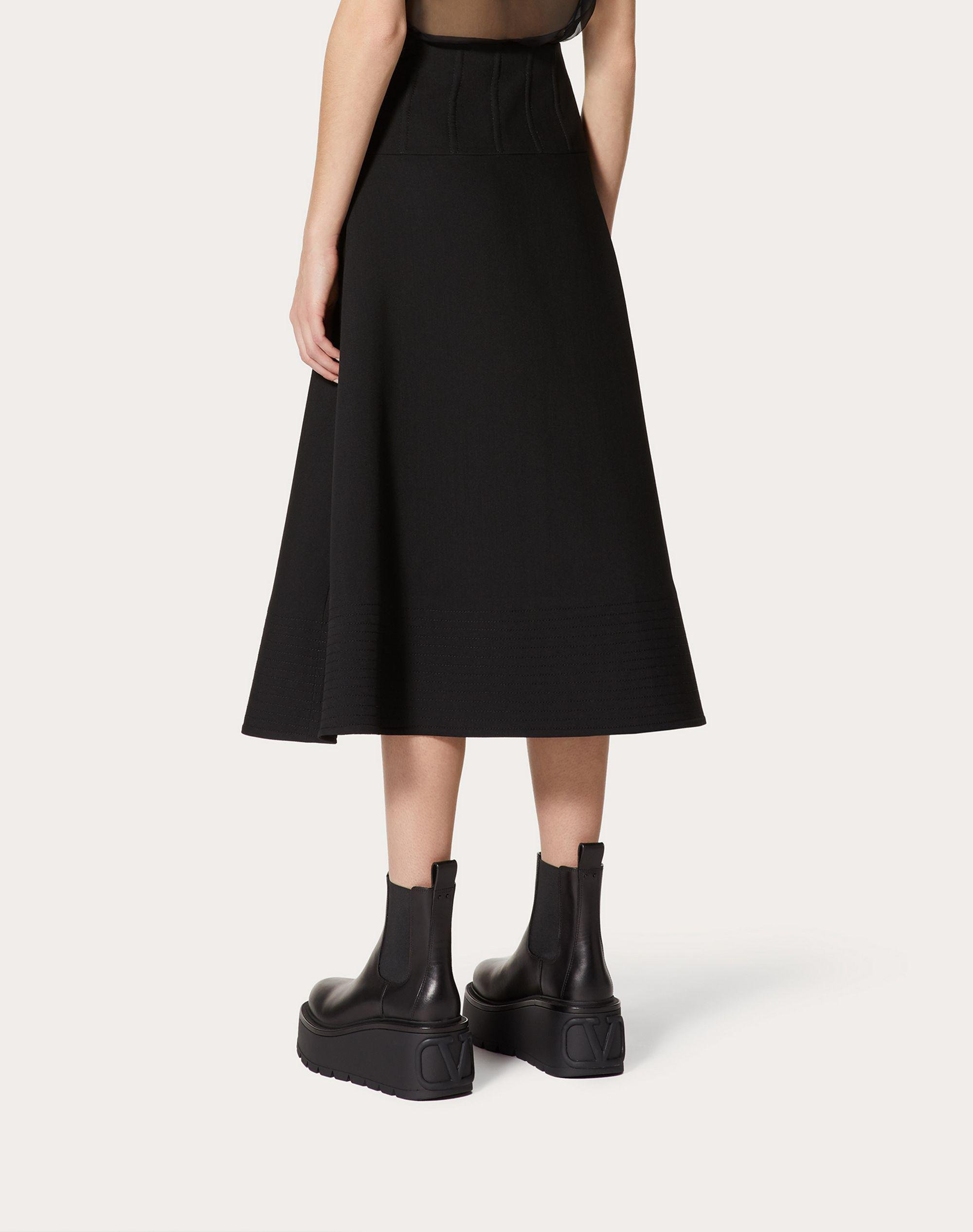 Crepe Couture Full Skirt 2
