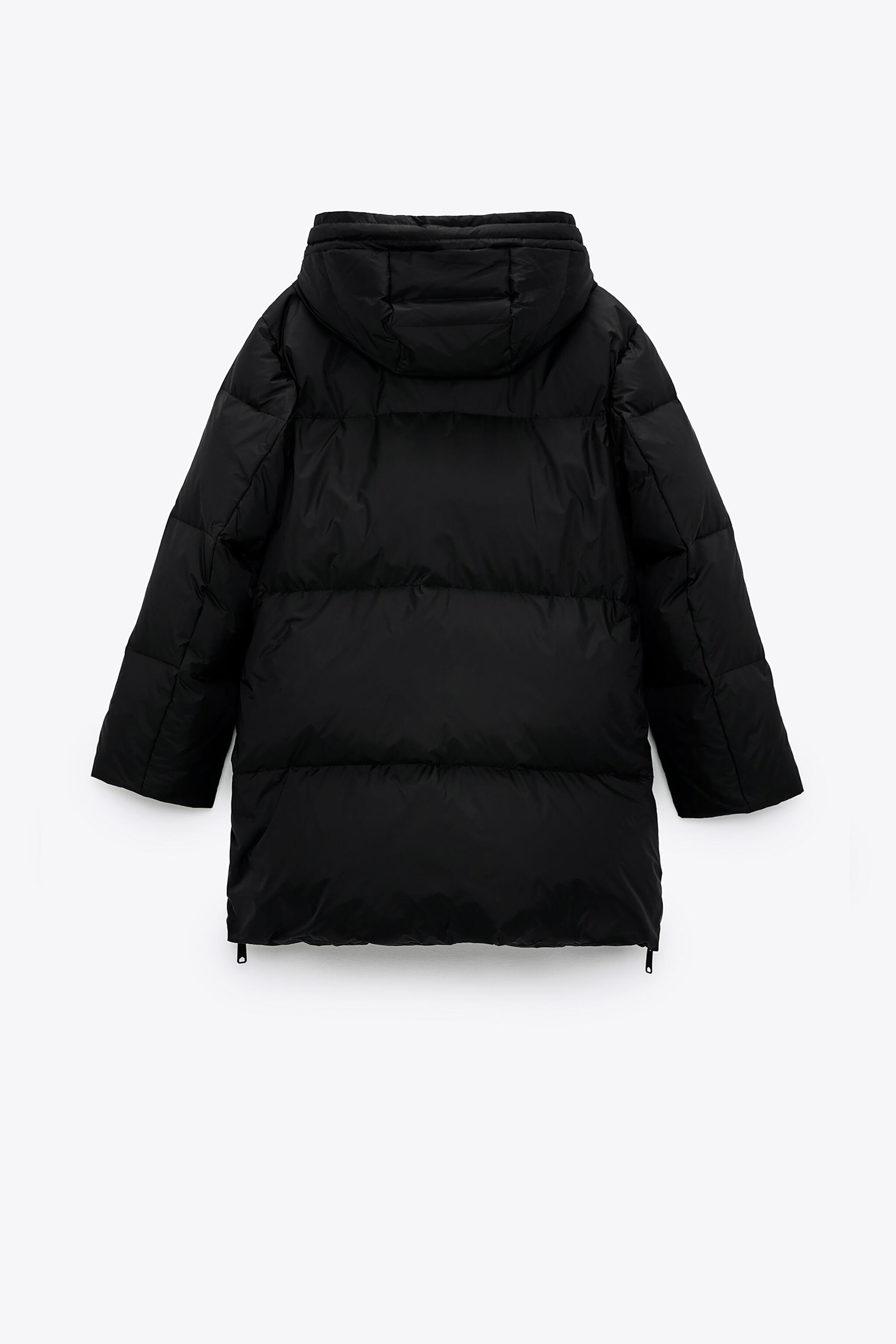 WATER AND WIND PROTECTION OVERSIZED DOWN COAT 7