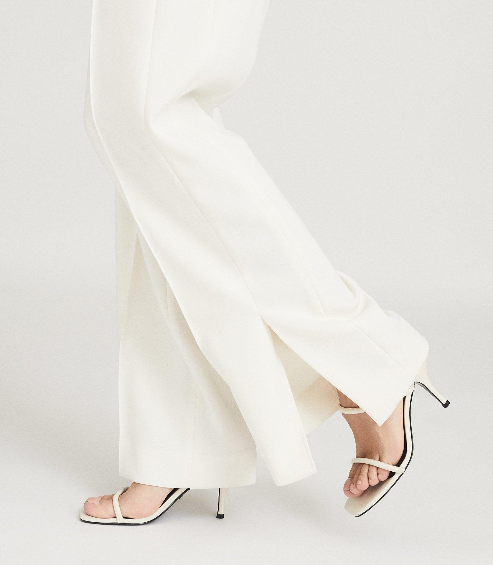 MAGDA - LEATHER STRAPPY HEELED SANDALS 6