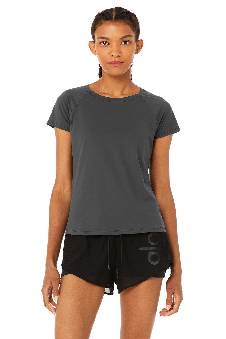 Pulse Short Sleeve - Anthracite
