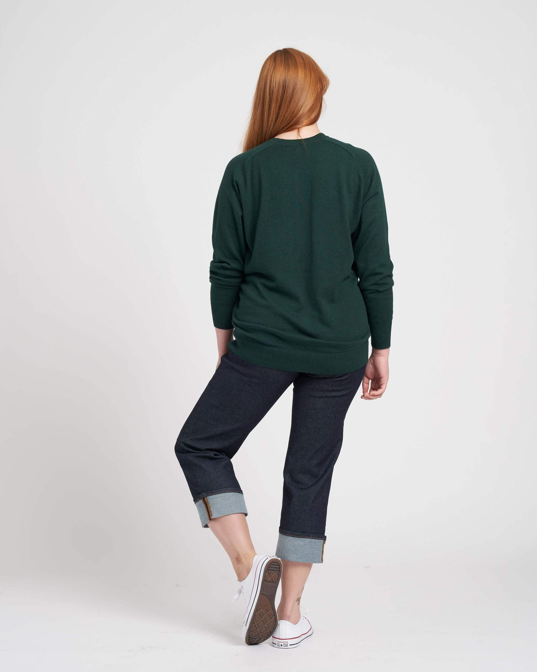 Eco Relaxed Core Sweater 4