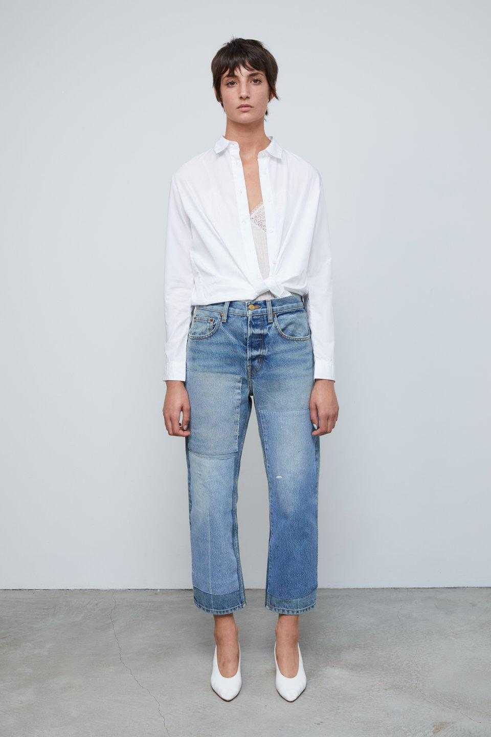 Marcel Relaxed Straight Jean Tate Vintage Patchwork No.3