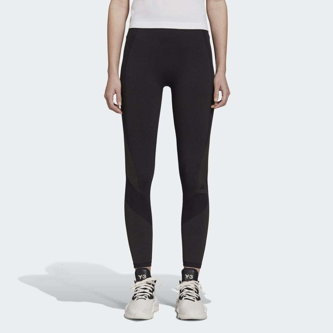 Y-3 Classic Seamless Knit Tights Black