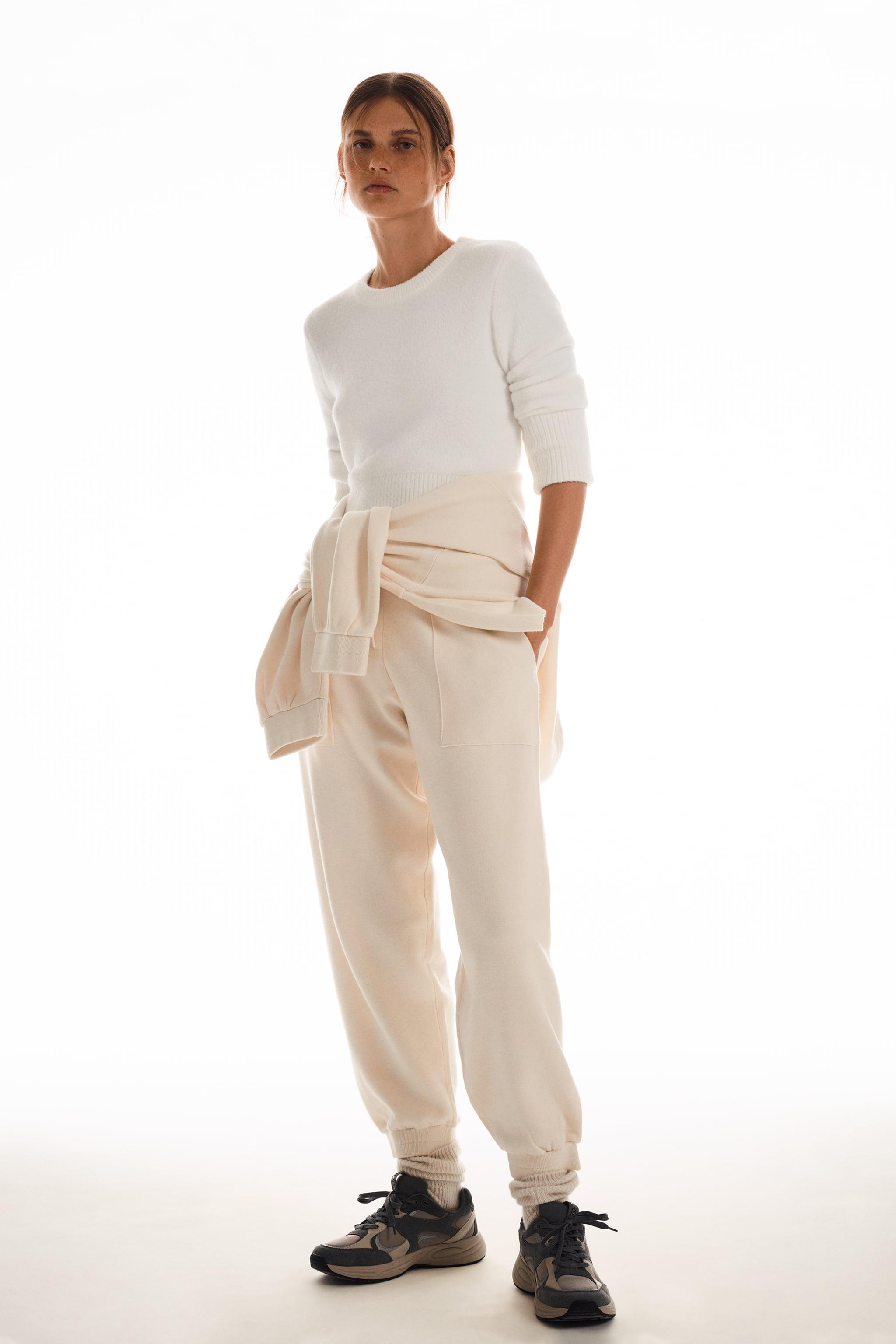 SOFT FEEL CROPPED SWEATER