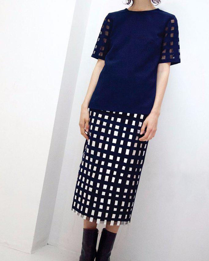 Sasha Hand Crafted Pencil Skirt - SPECIAL PRICE