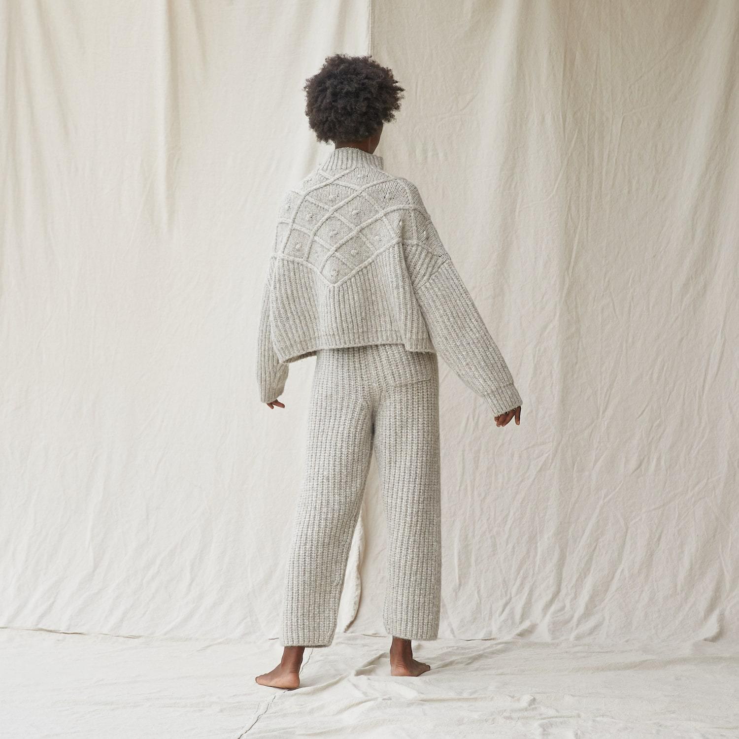 Chunky Wool Pullover 3
