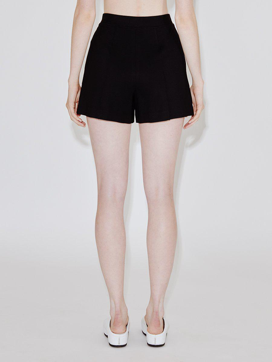 Pull On Relaxed Pintuck Shorts 2