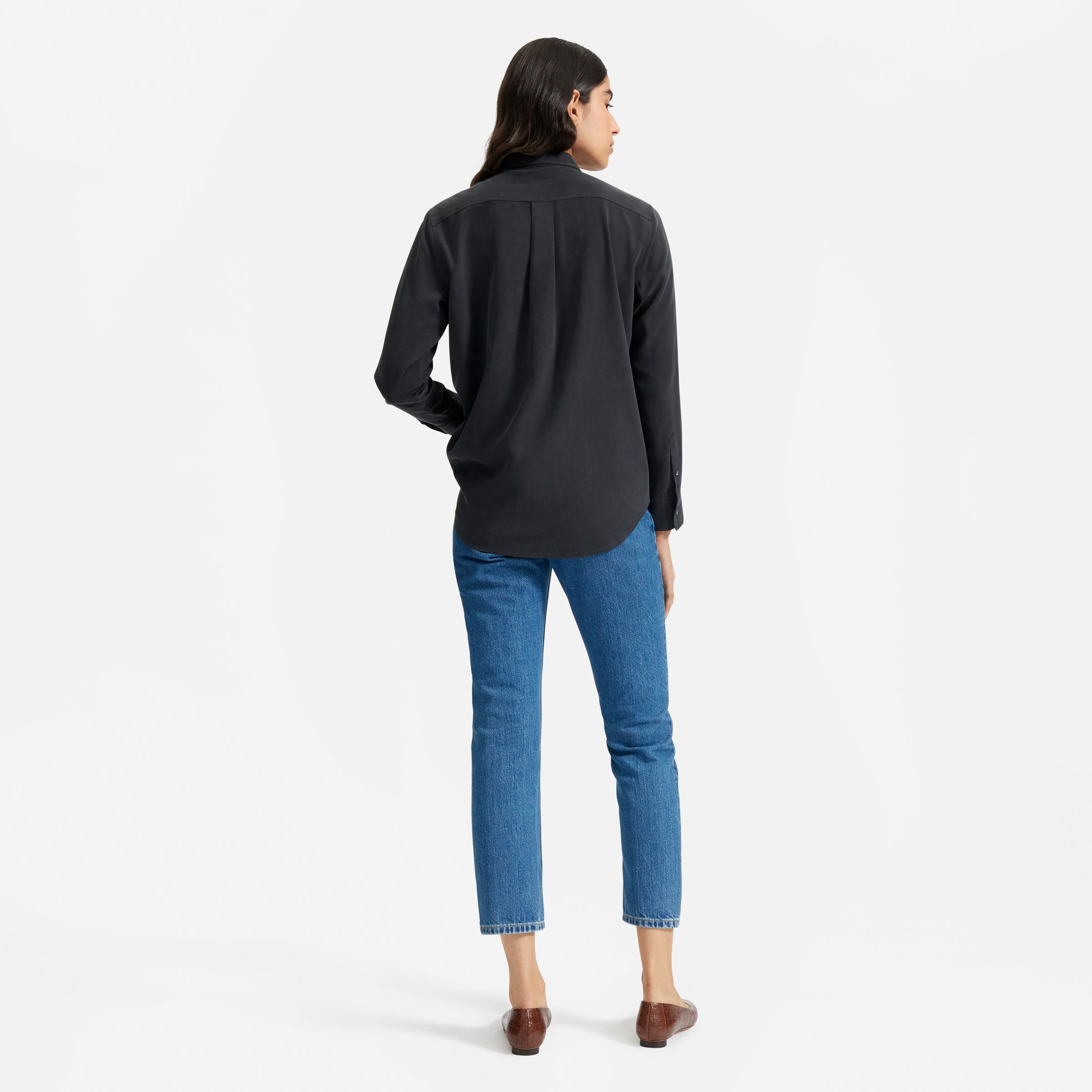 The Washable Silk Relaxed Shirt  3