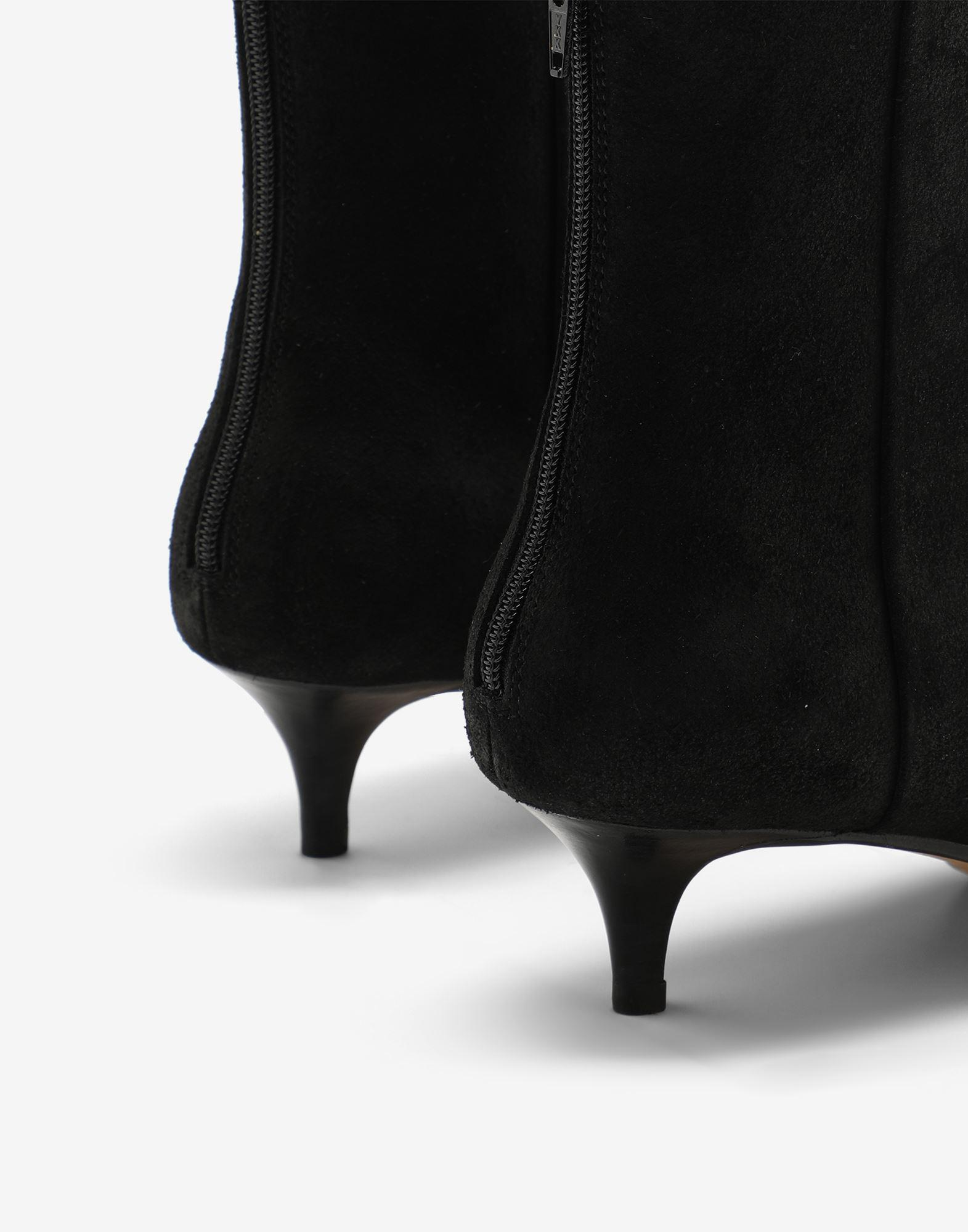 Suede ankle boots 4