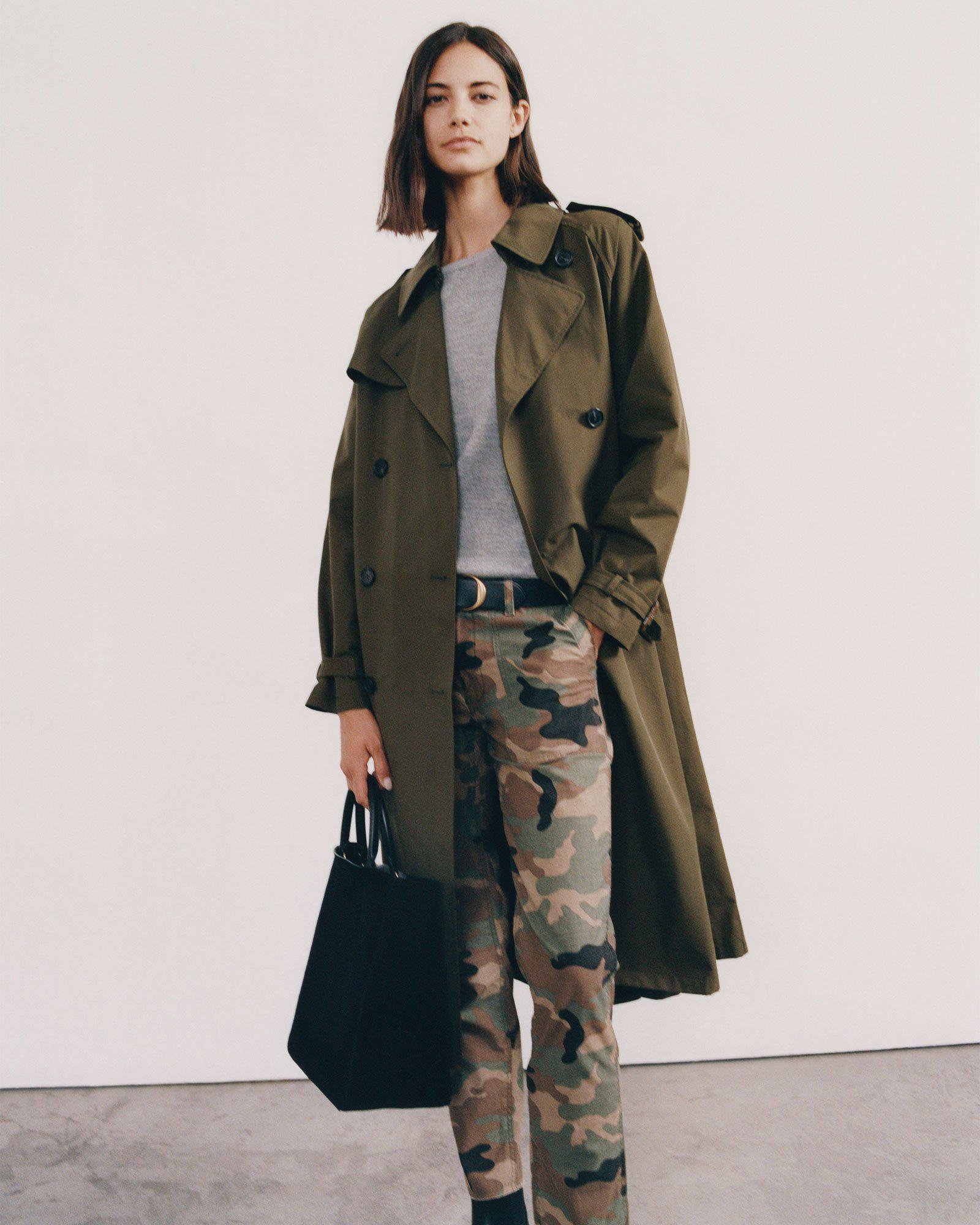 TANNER TRENCH COAT
