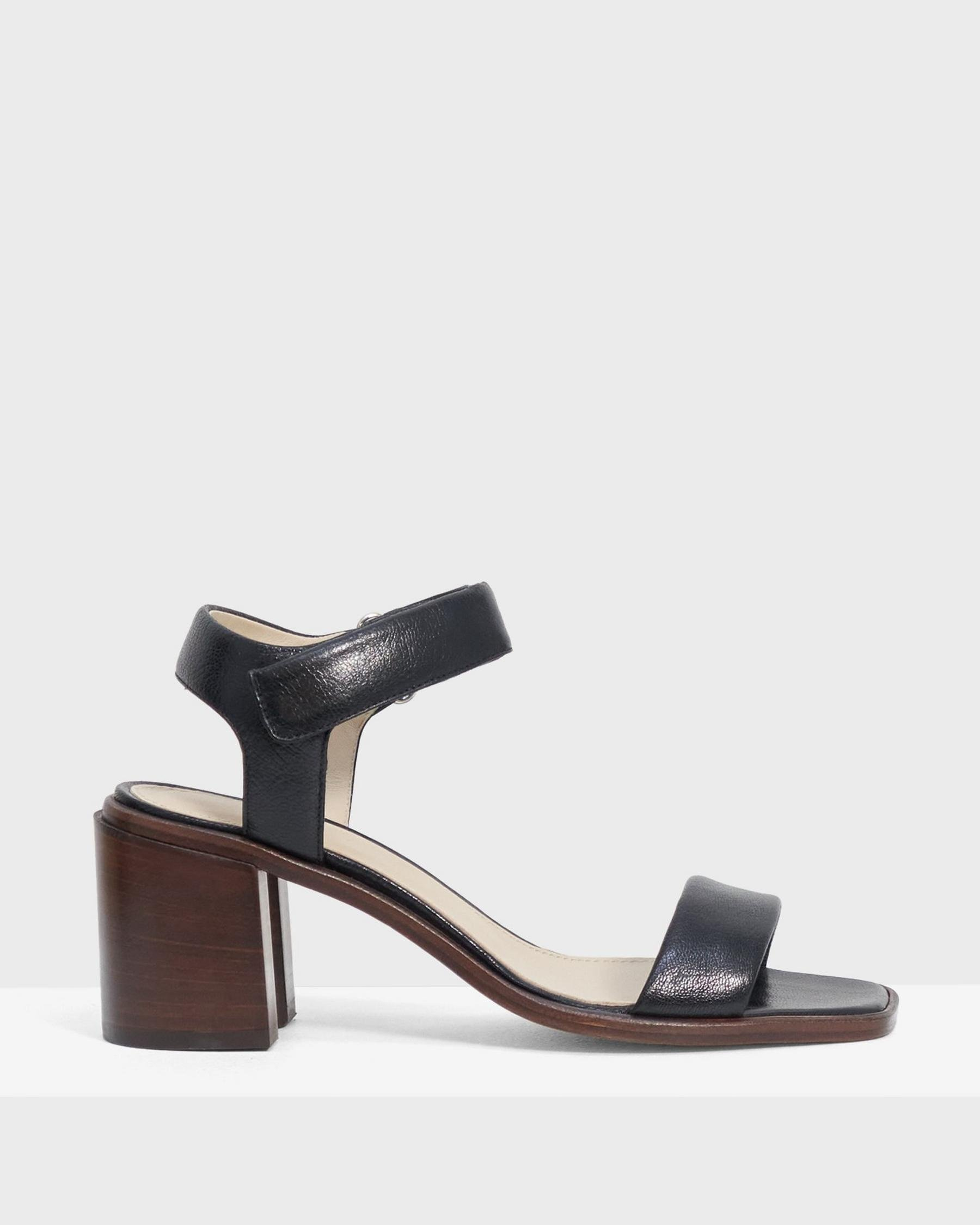 Mid-Ankle Strap Sandal in Leather 5