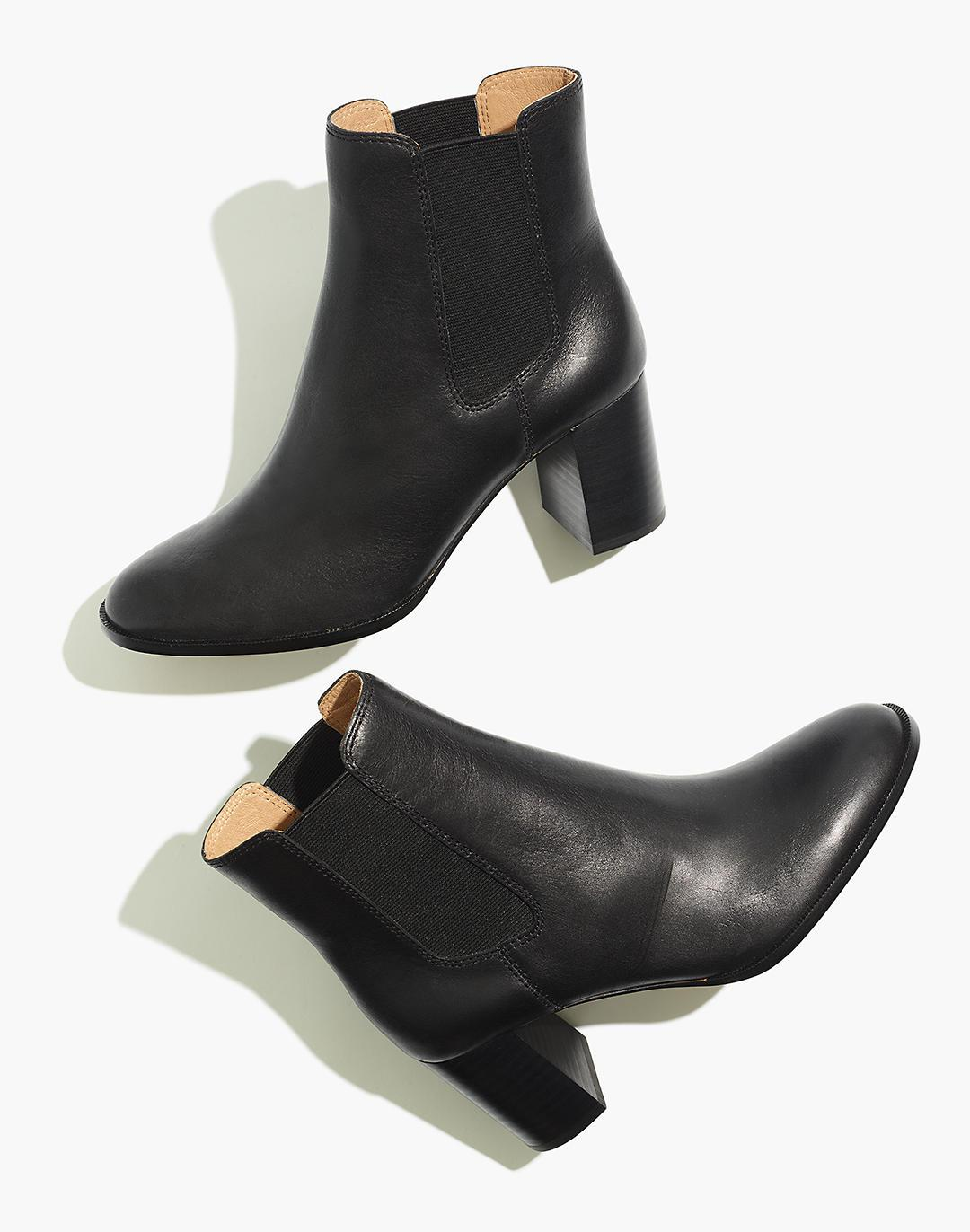 The Laura Chelsea Boot in Leather