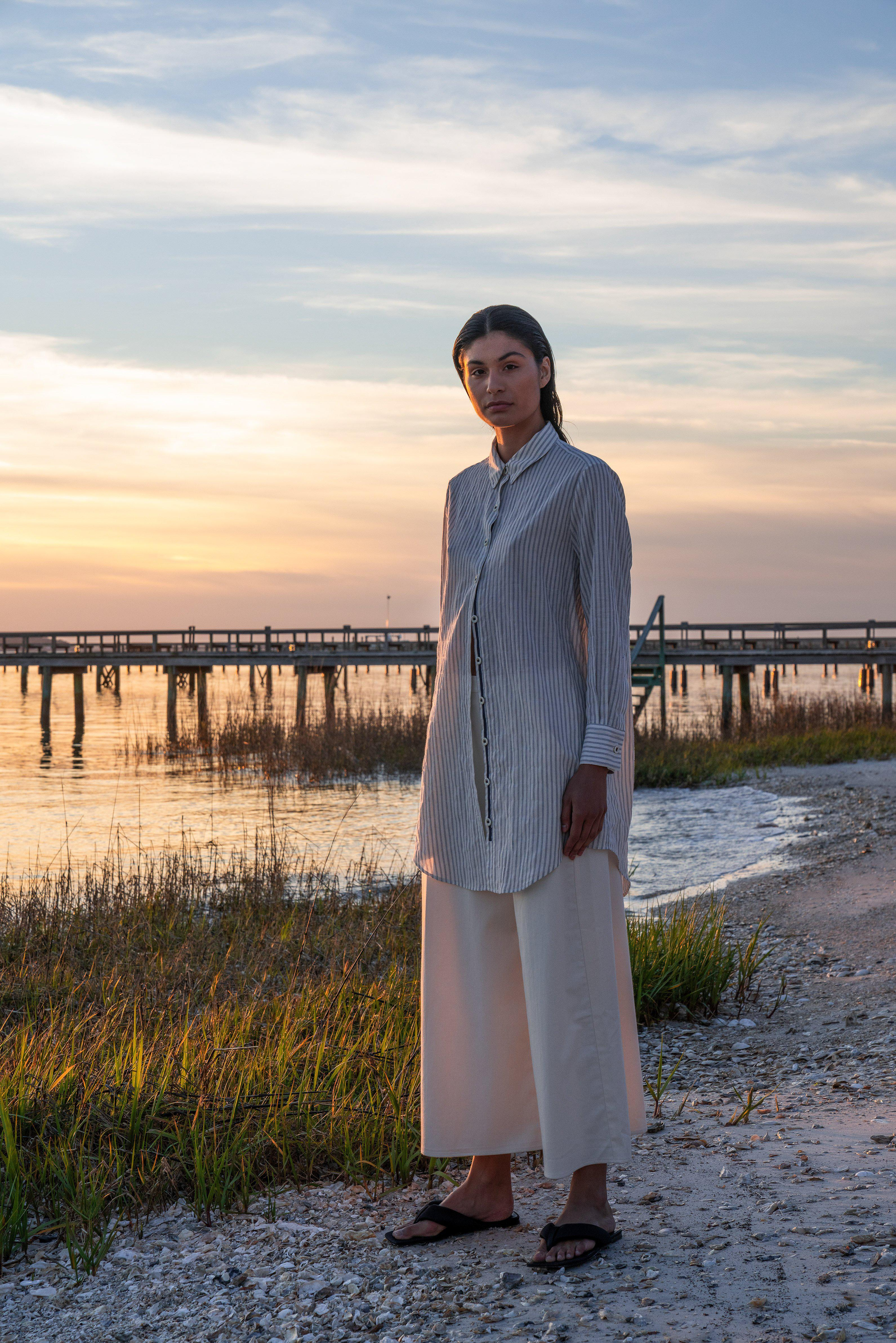 The Twill Wide Leg Pant 2