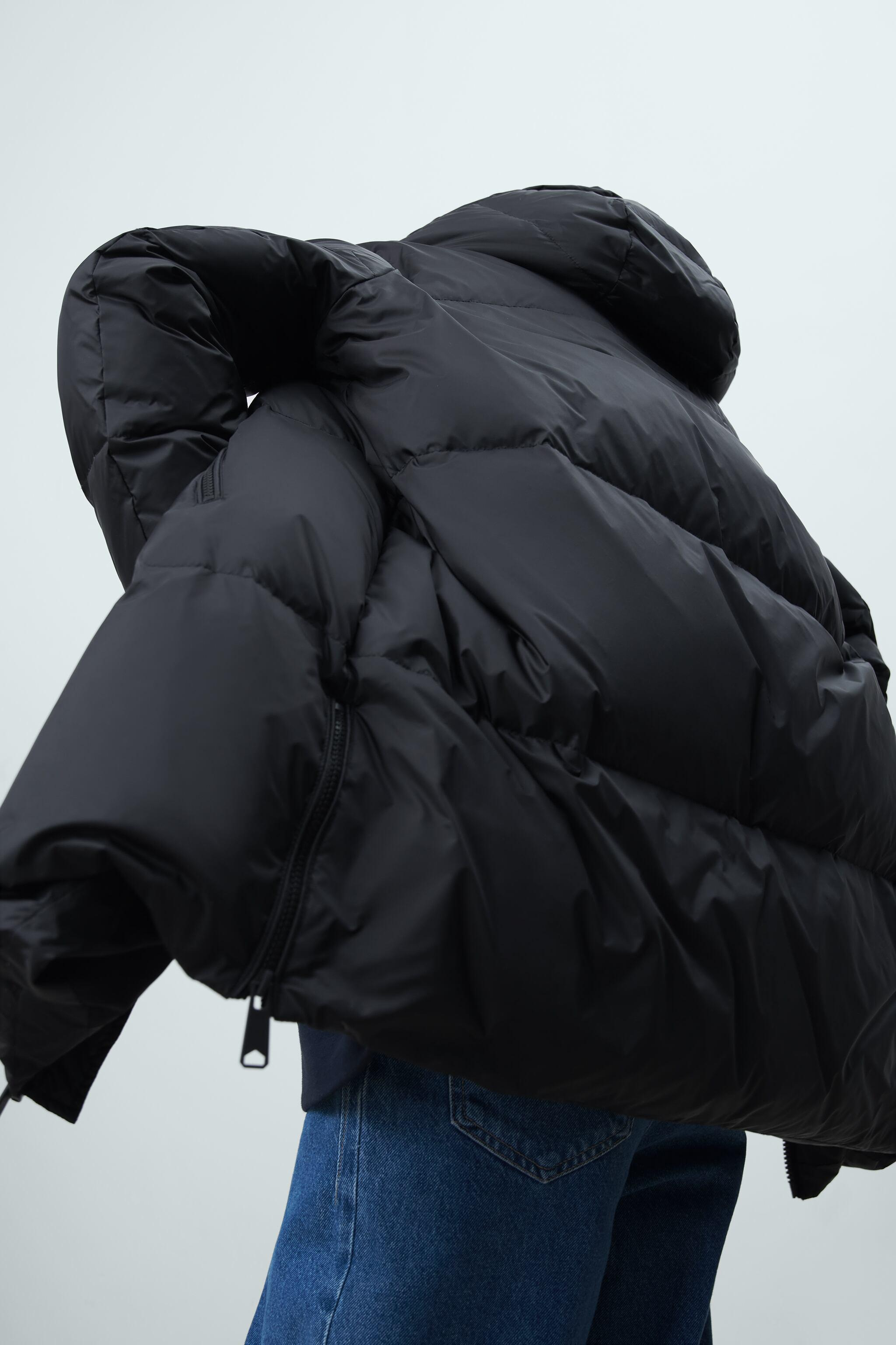 WATER AND WIND PROTECTION OVERSIZED DOWN COAT 3