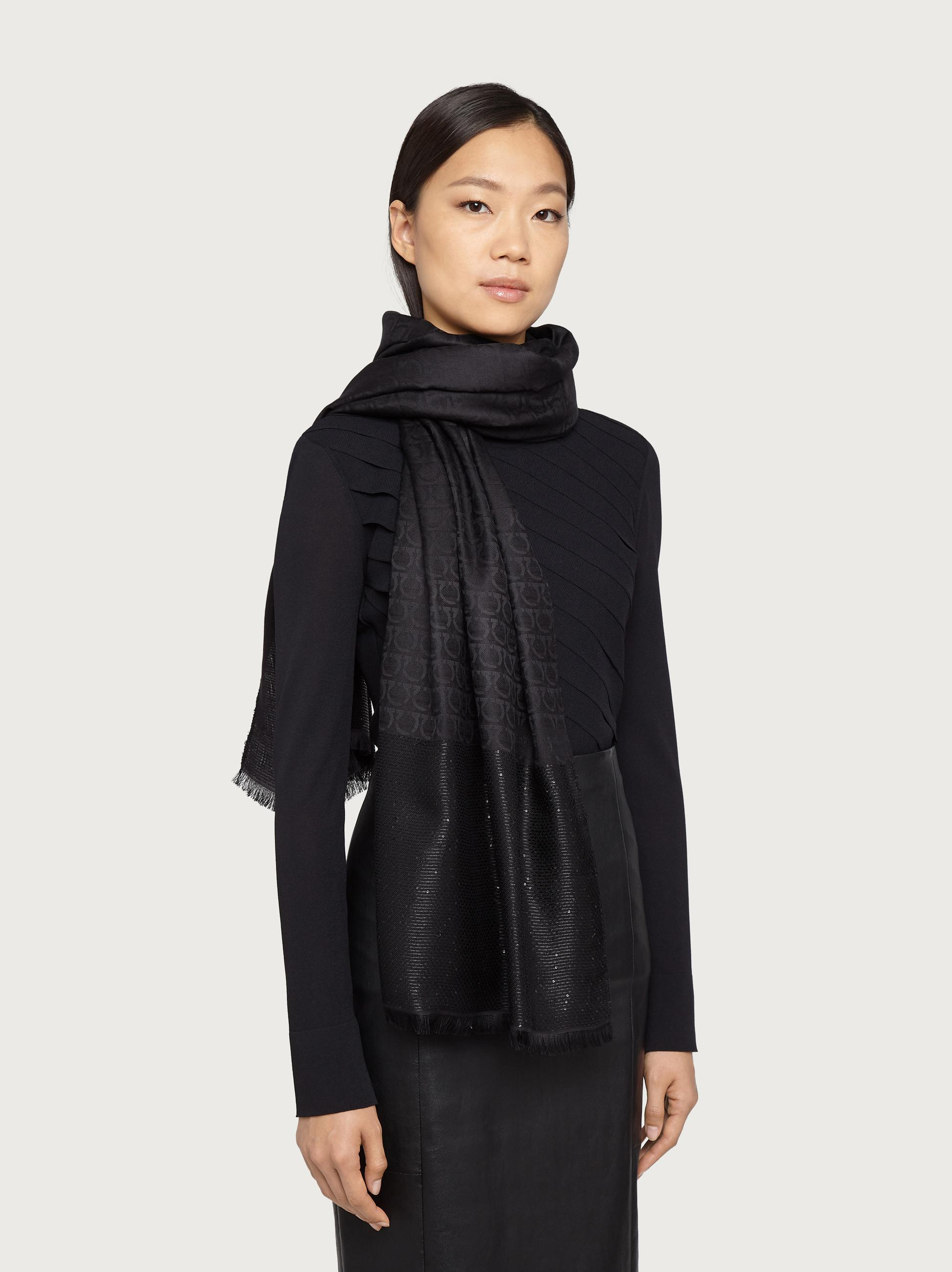 GANCINI SEQUINED STOLE 1