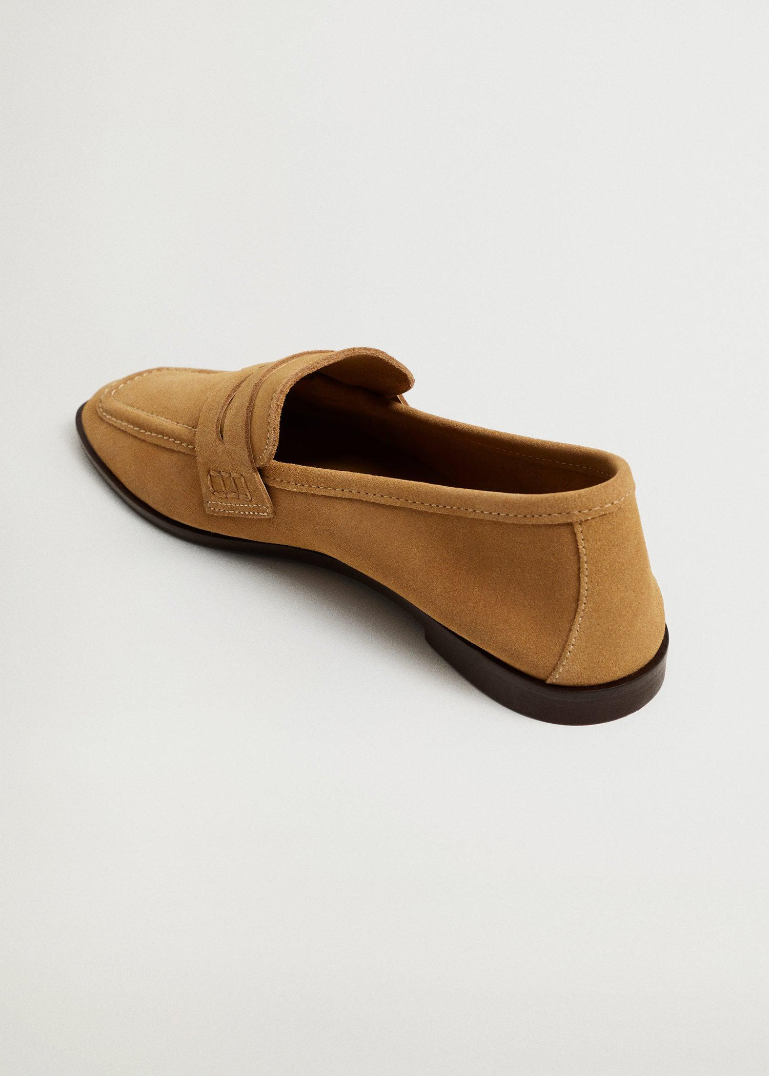 Suede leather moccasin 2