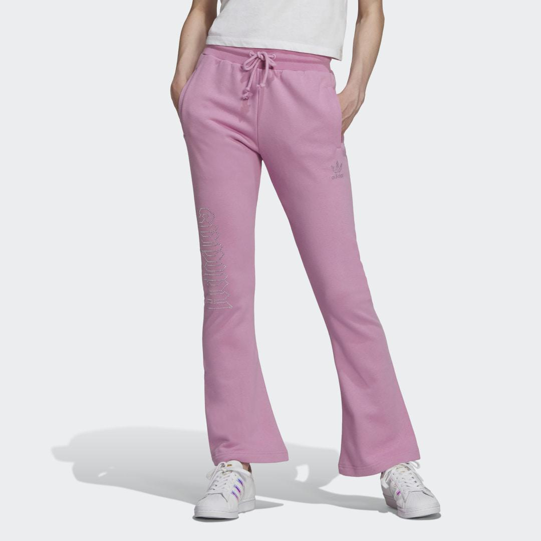 2000 Luxe Open Hem Track Pants Bliss Orchid