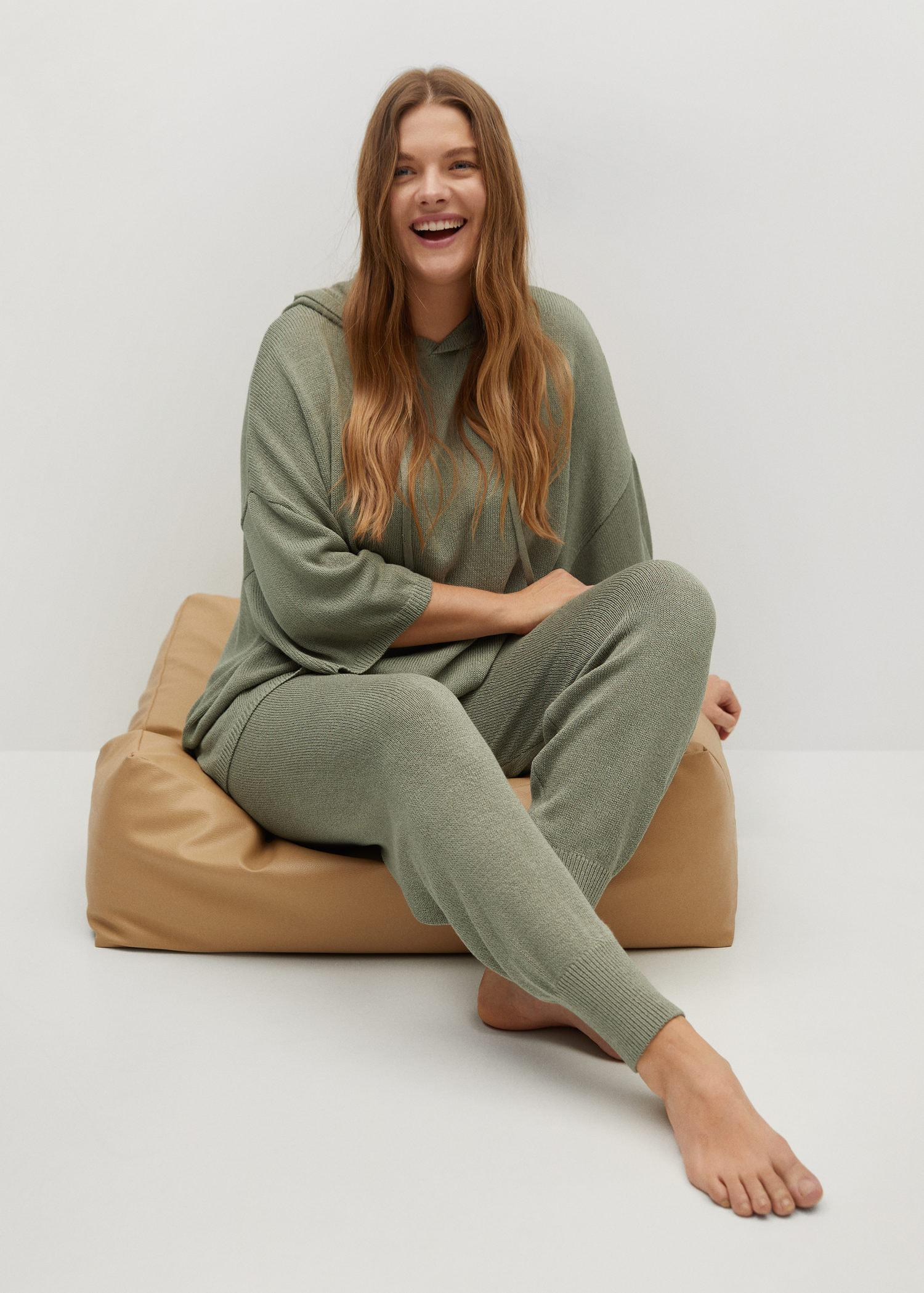 Baggy knit trousers 3
