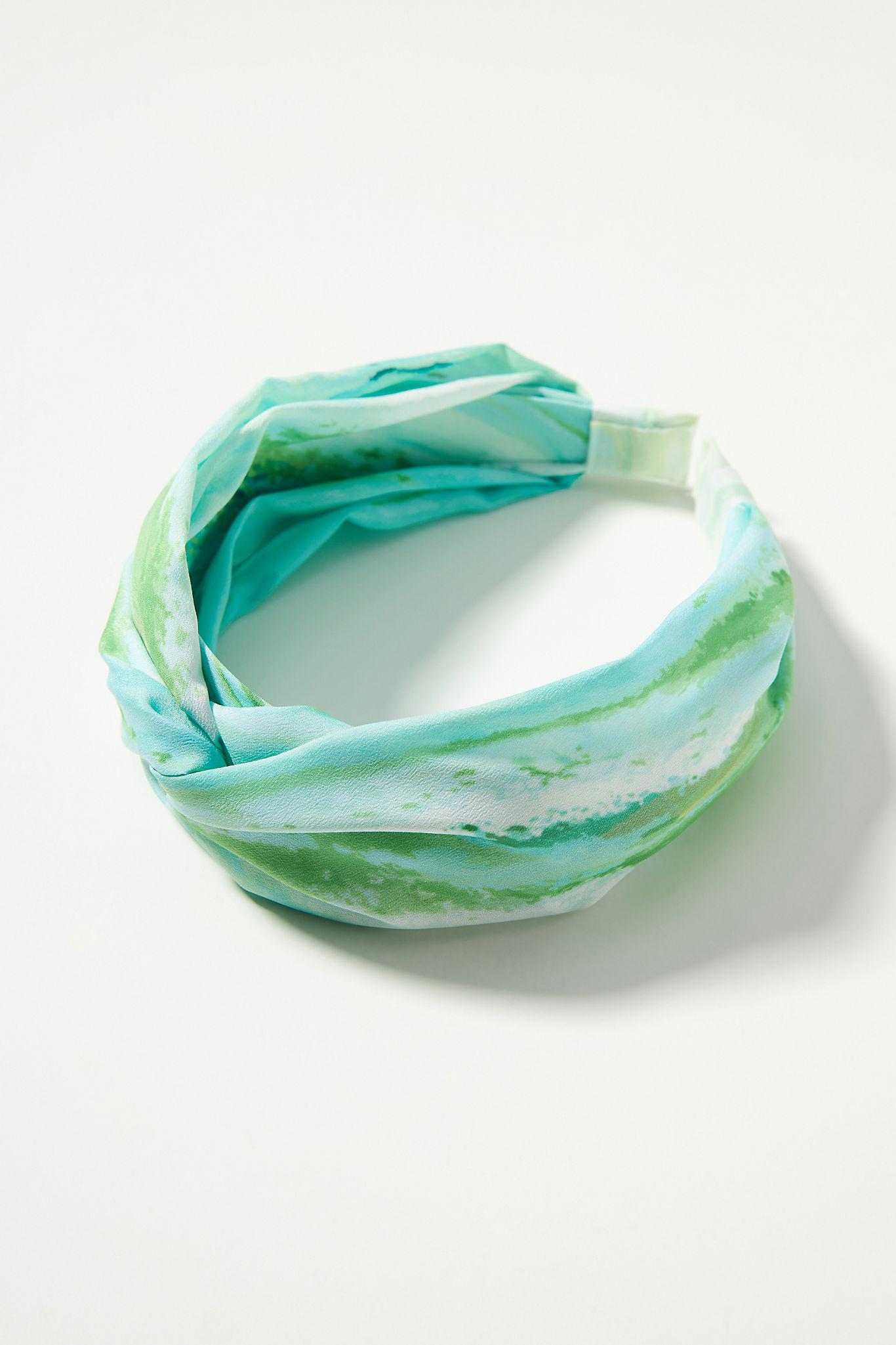 Watercolor Stripe Knotted Headband