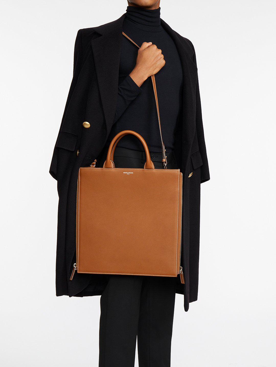 Sidney Leather Tote Bag 9