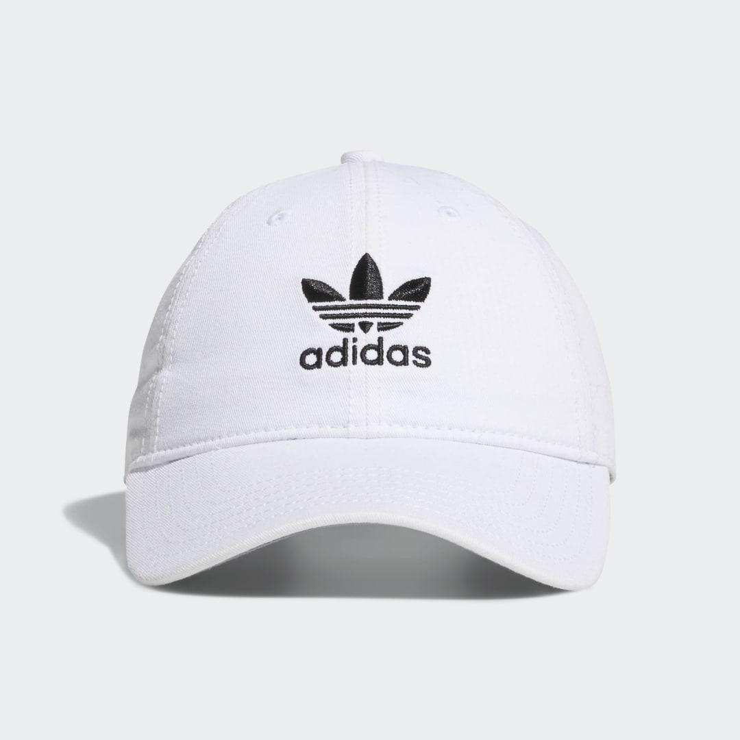 Relaxed Strap-Back Hat White - Originals Hats