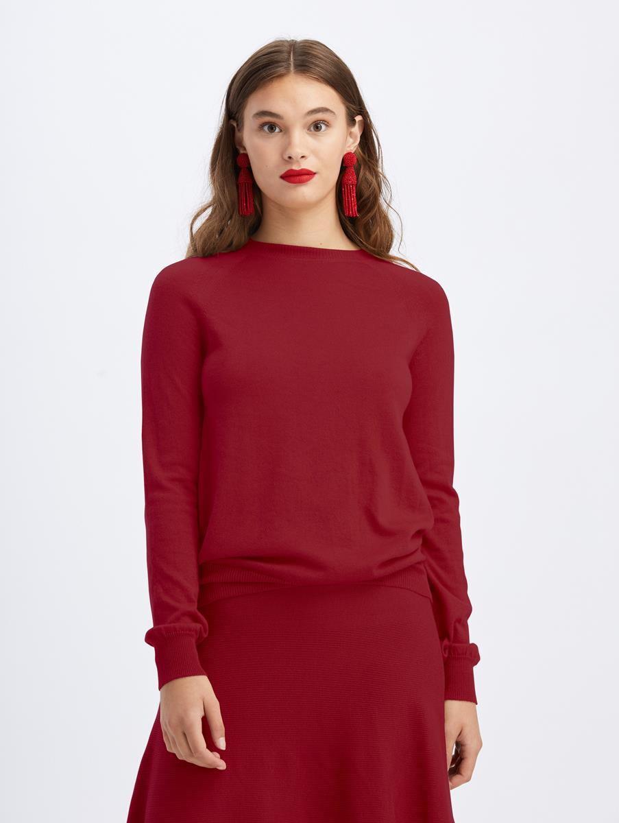 LONG SLEEVE PULLOVER SWEATER 0
