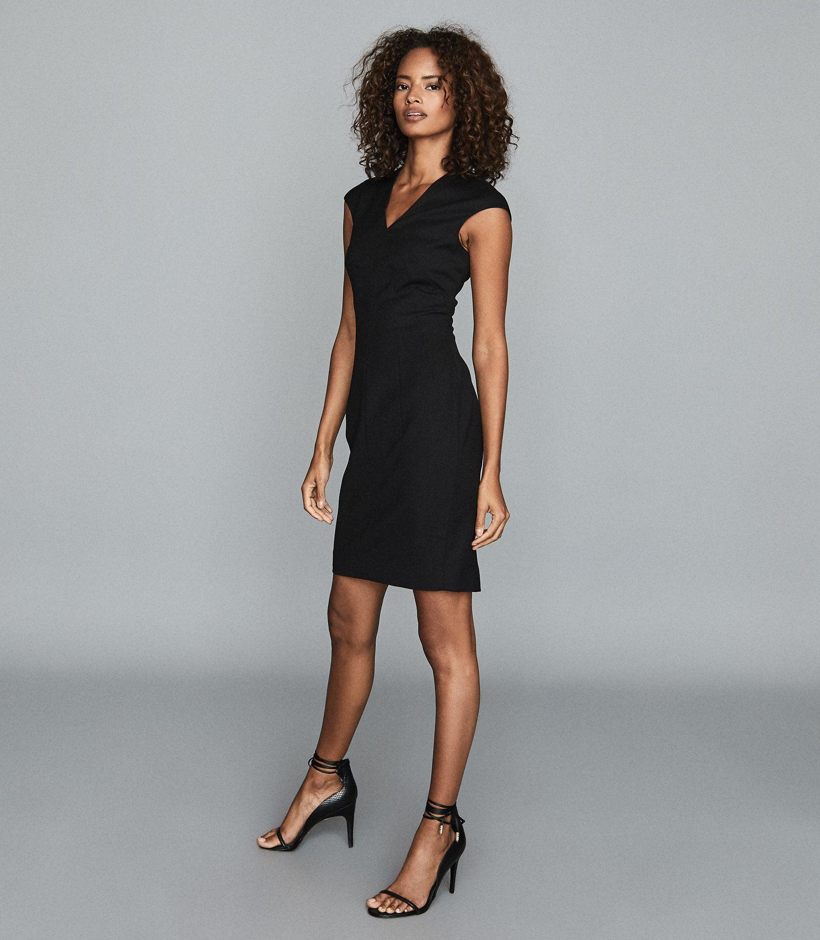 HAYES - TAILORED DRESS