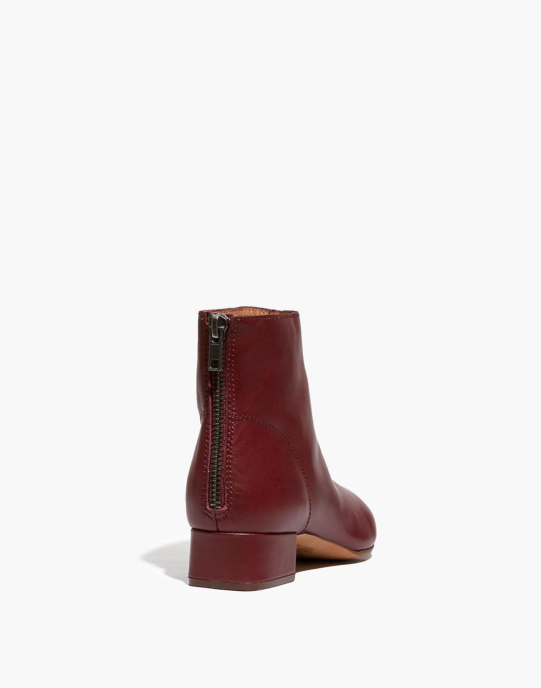 The Rena Ankle Boot in Leather 2