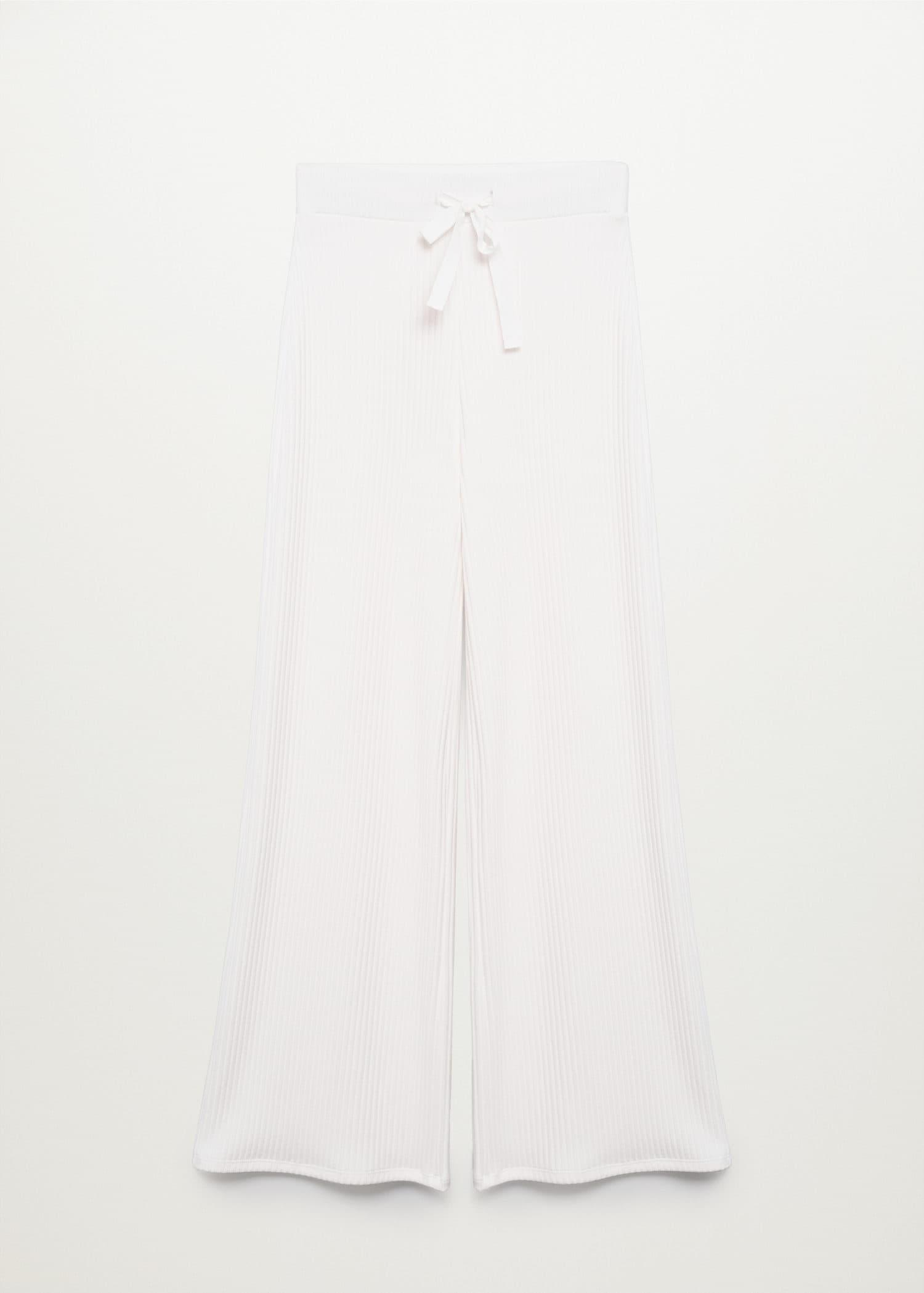 Ribbed knit trousers 6