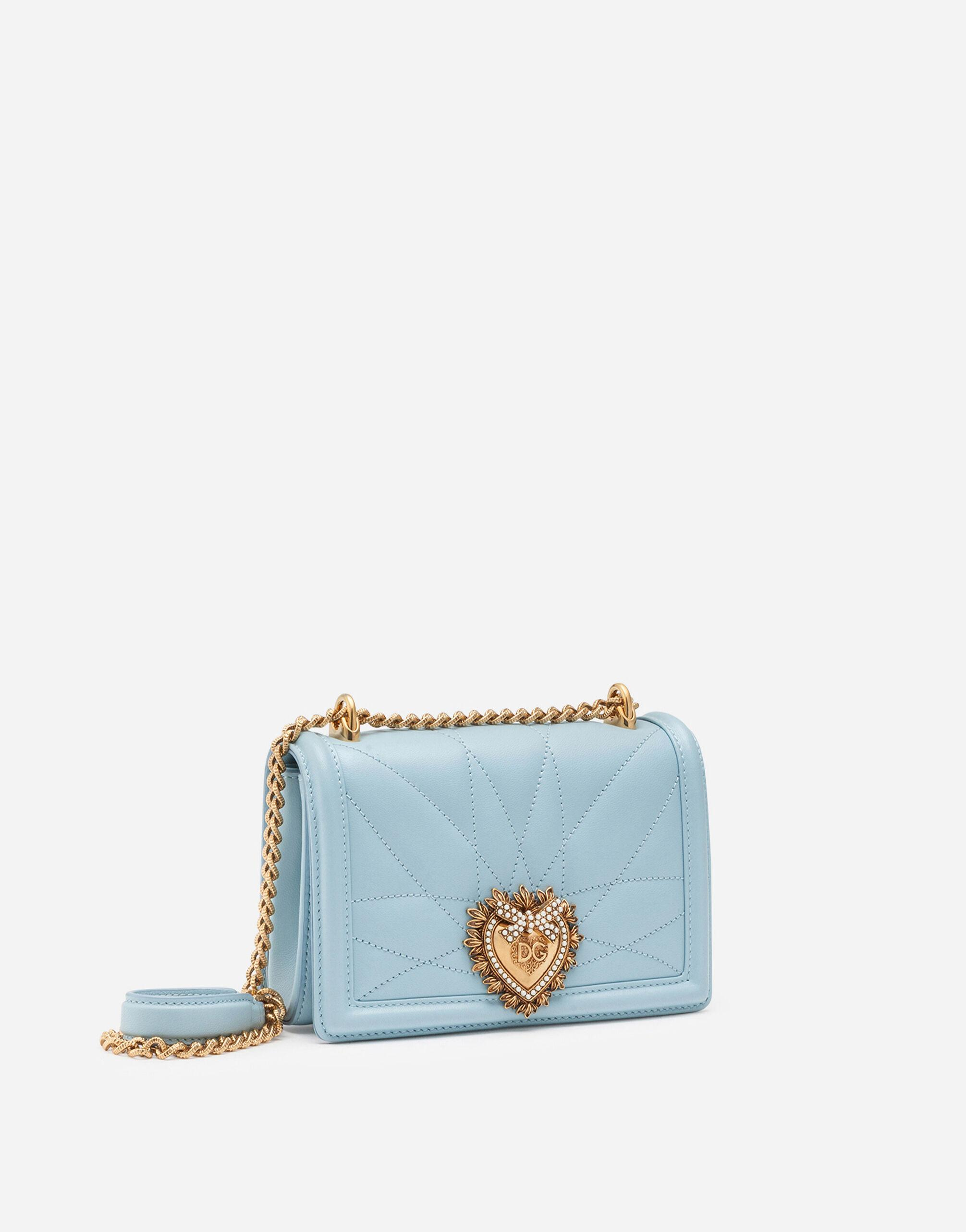 Small Devotion crossbody bag in quilted nappa leather 1
