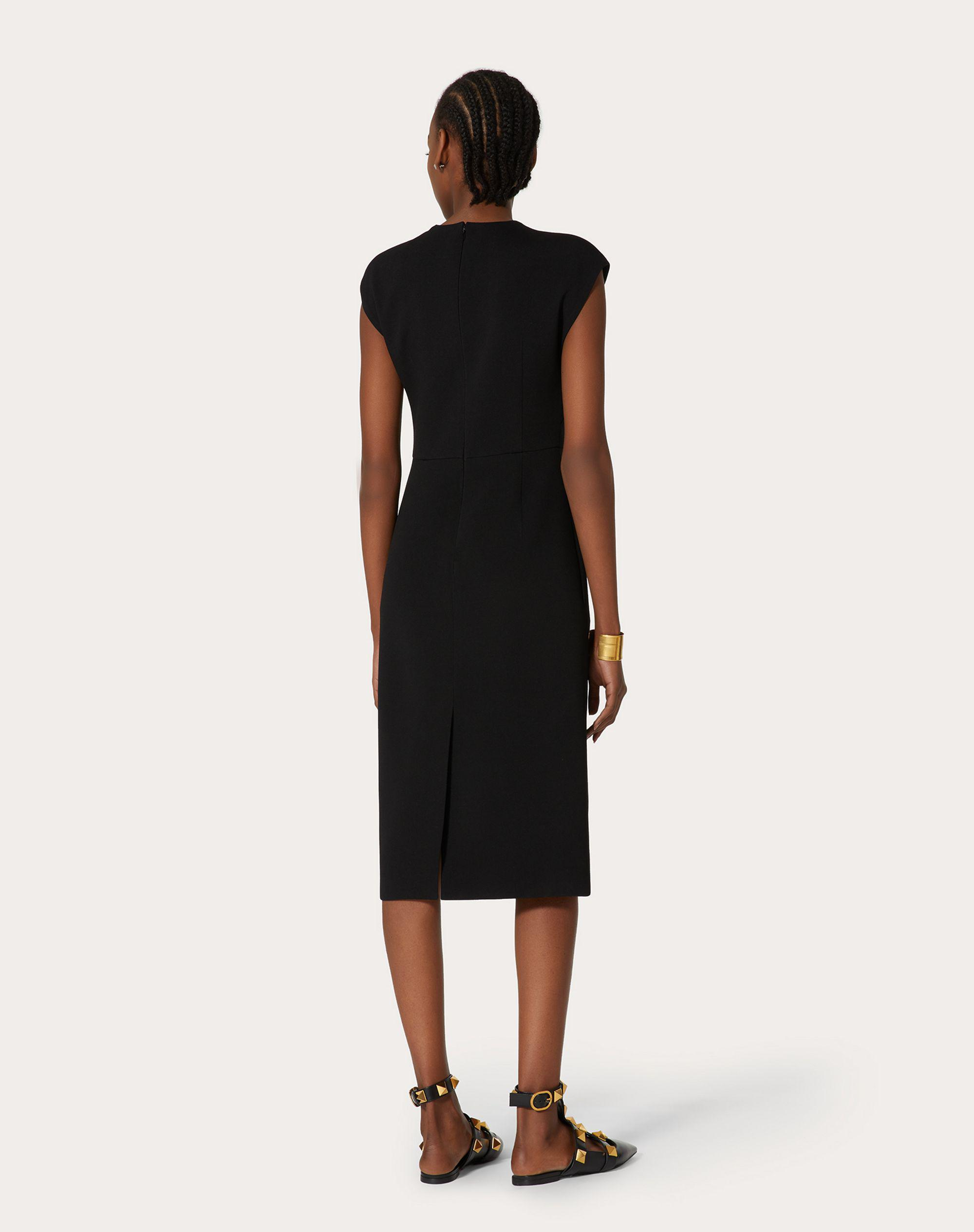 STRETCH CREPE COUTURE DRESS 2