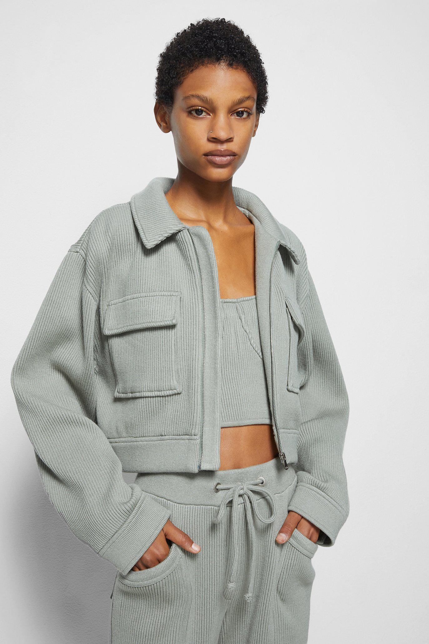 Linza Recycled Knit Jacket