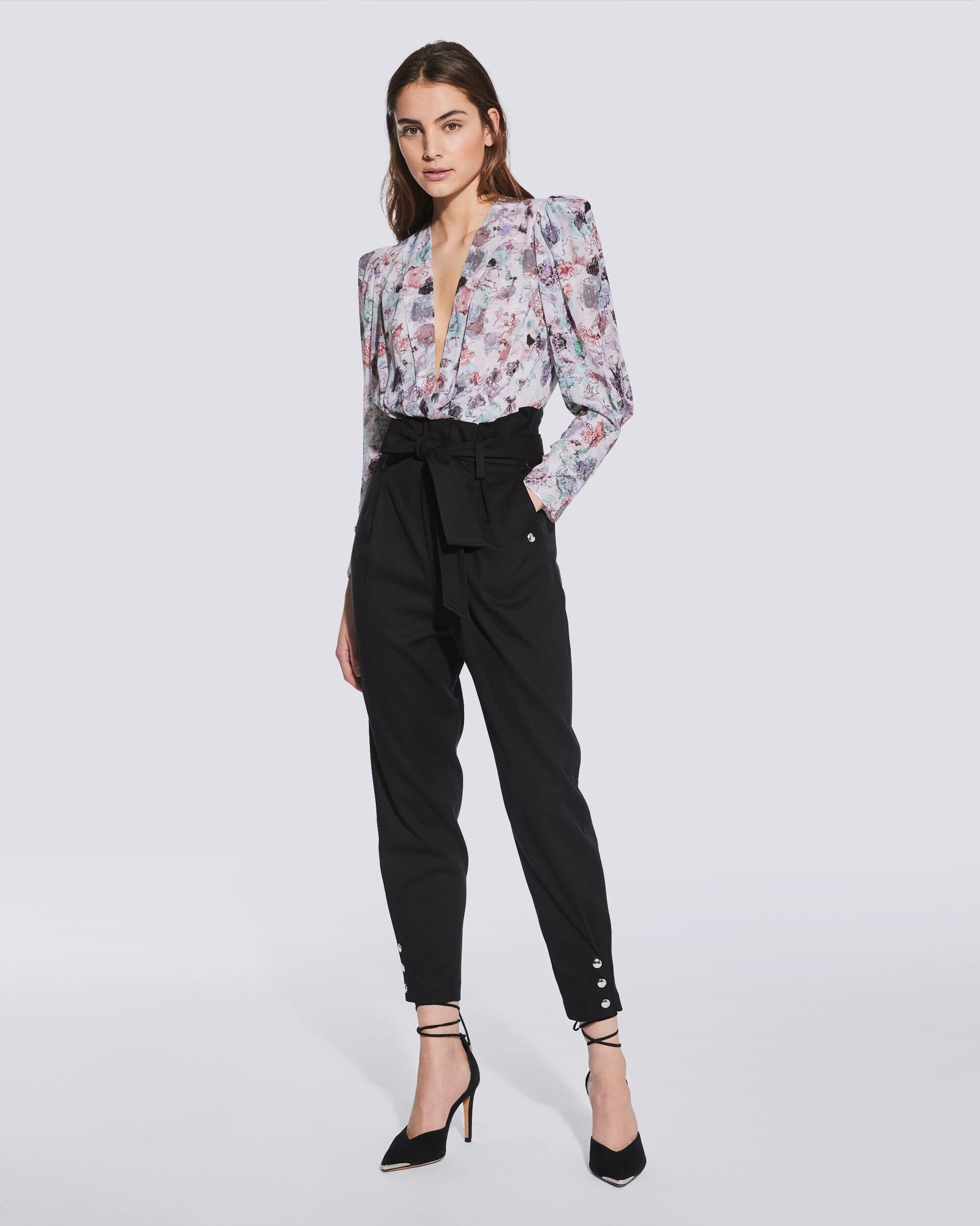 BORCIE PAPERBAG WAIST TROUSERS