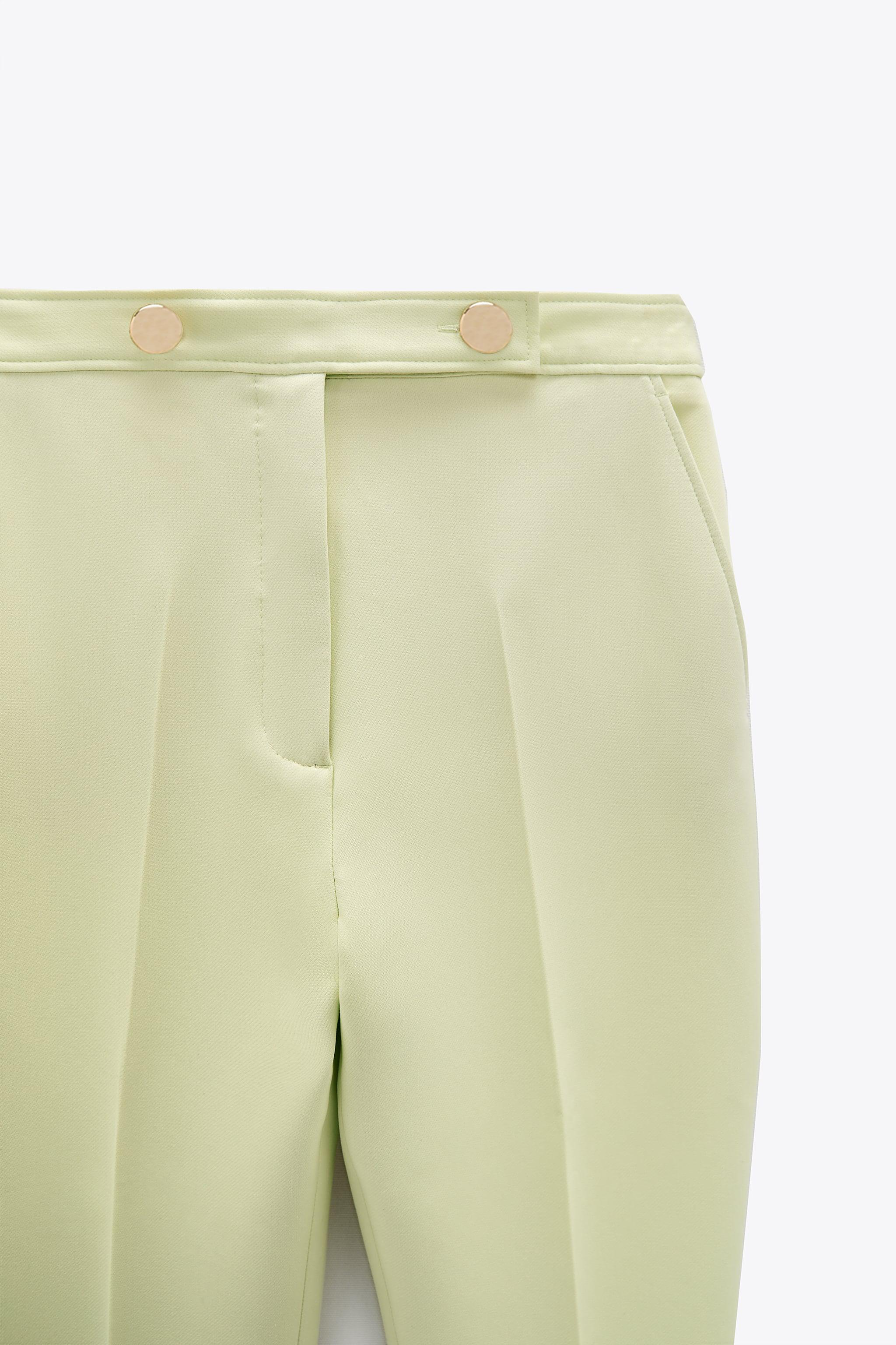 BUTTONED PANTS WITH BELT 6