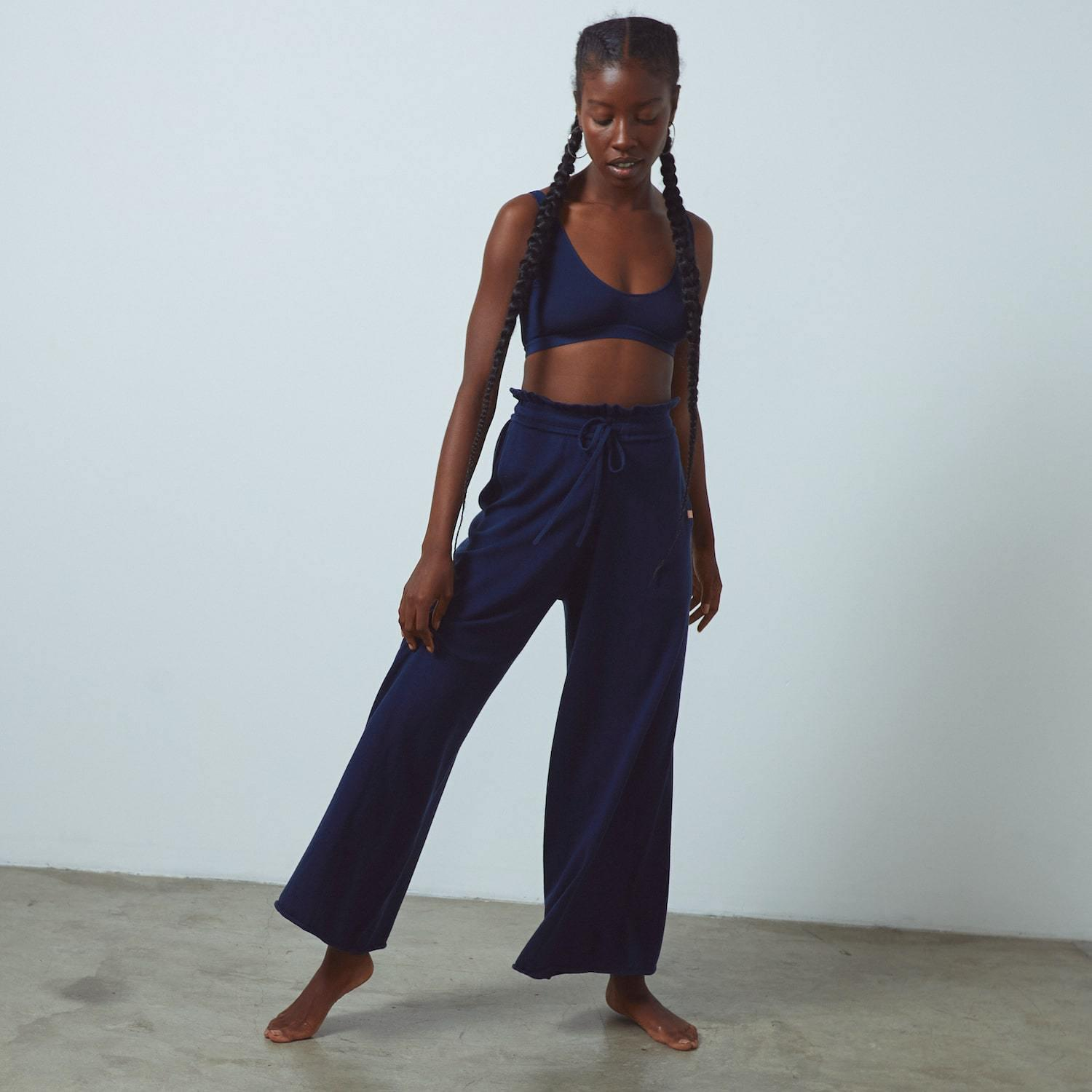 Cozy Cotton Silk Relaxed Pant 4