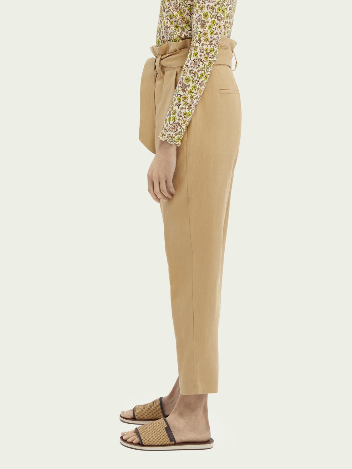 Paperbag trousers 3