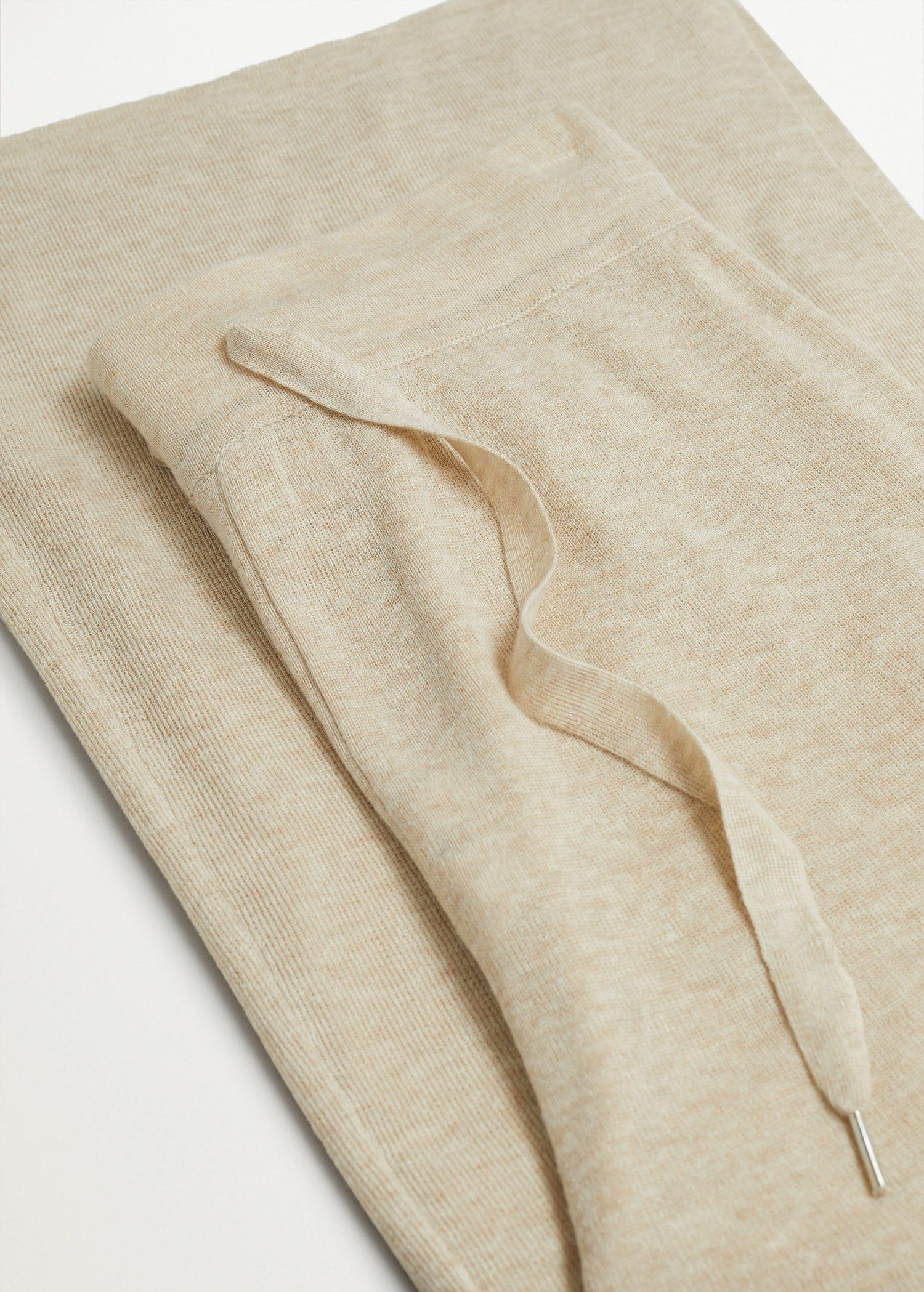 Knitted linen pants 7
