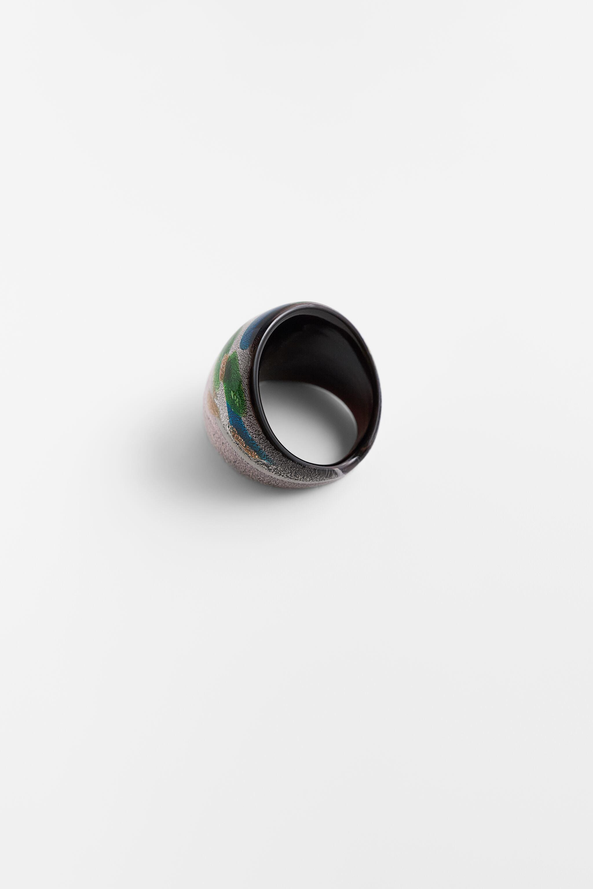 COSMIC GLASS COLLECTION RING 3