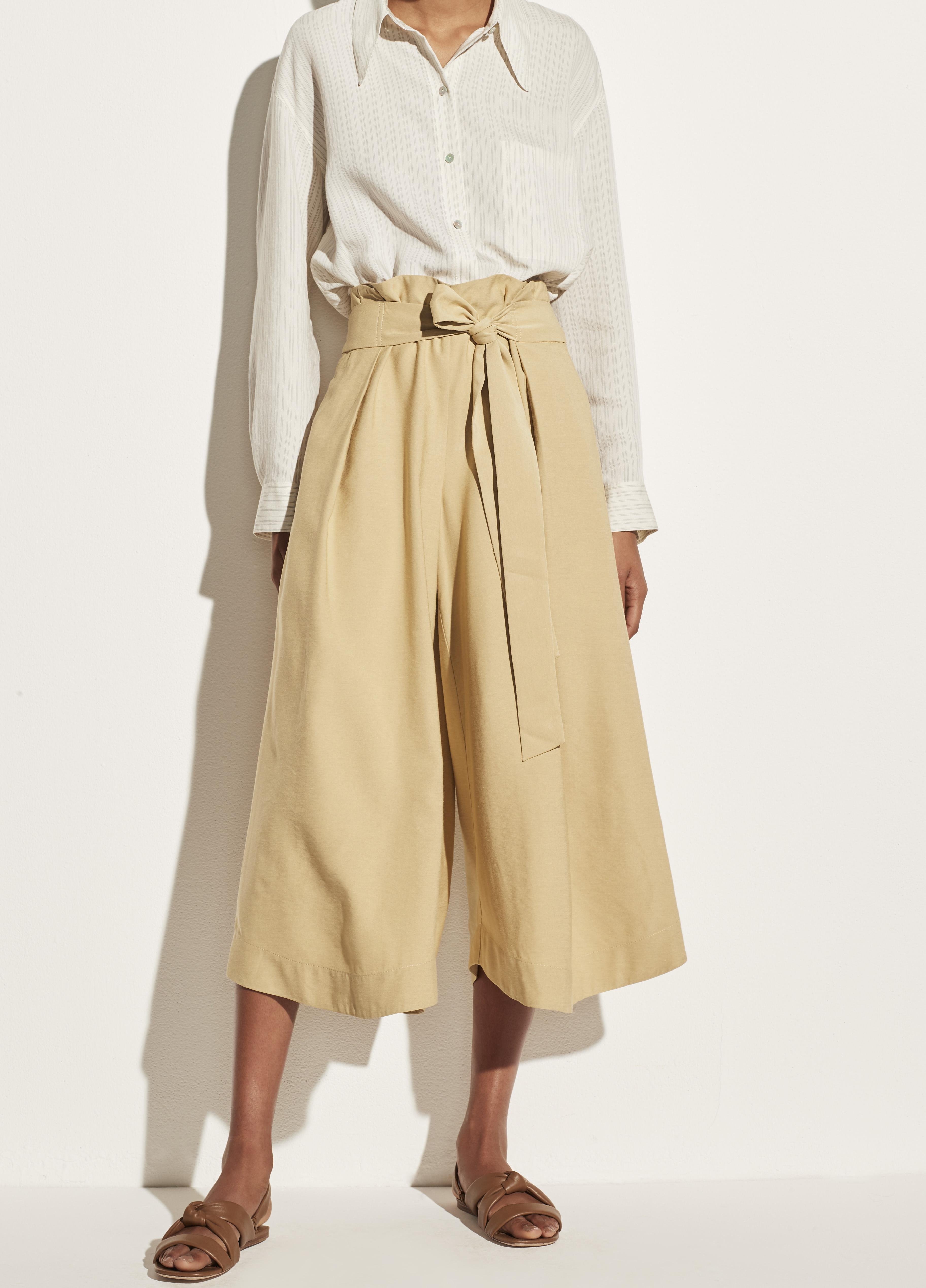 Belted Palazzo Culotte 1