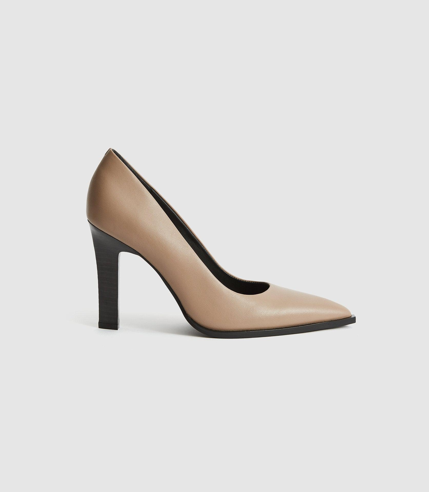 ADA COURT - LEATHER COURT SHOES