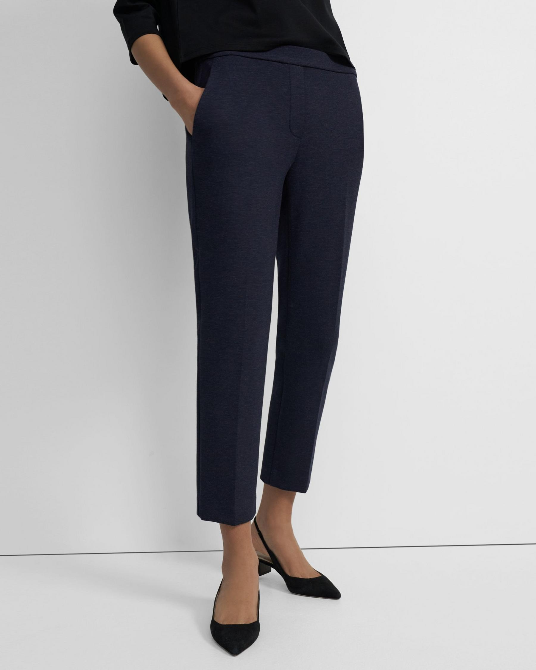 Treeca Pull-On Pant in Double-Knit Jersey 3