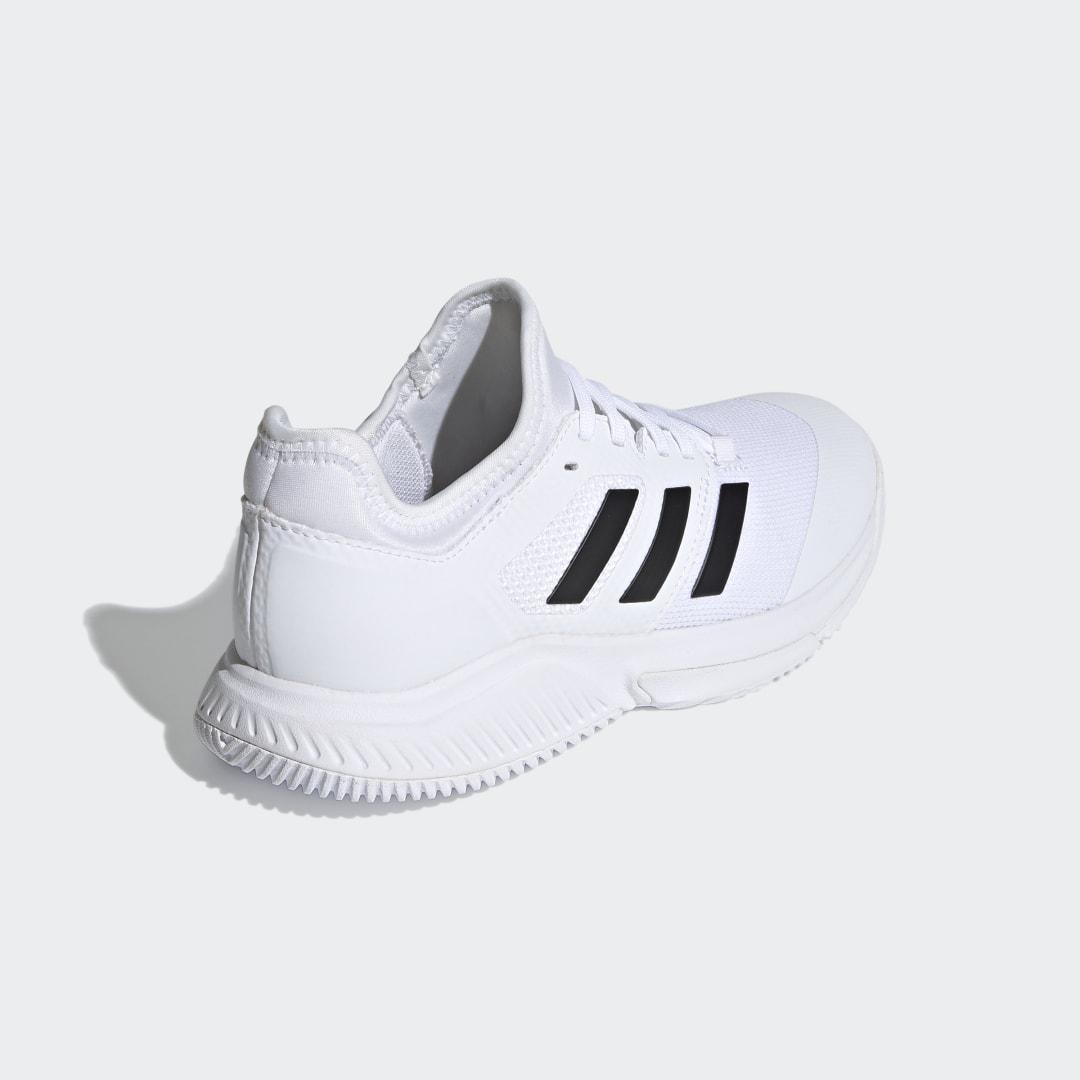 Court Team Bounce Indoor Shoes White 1