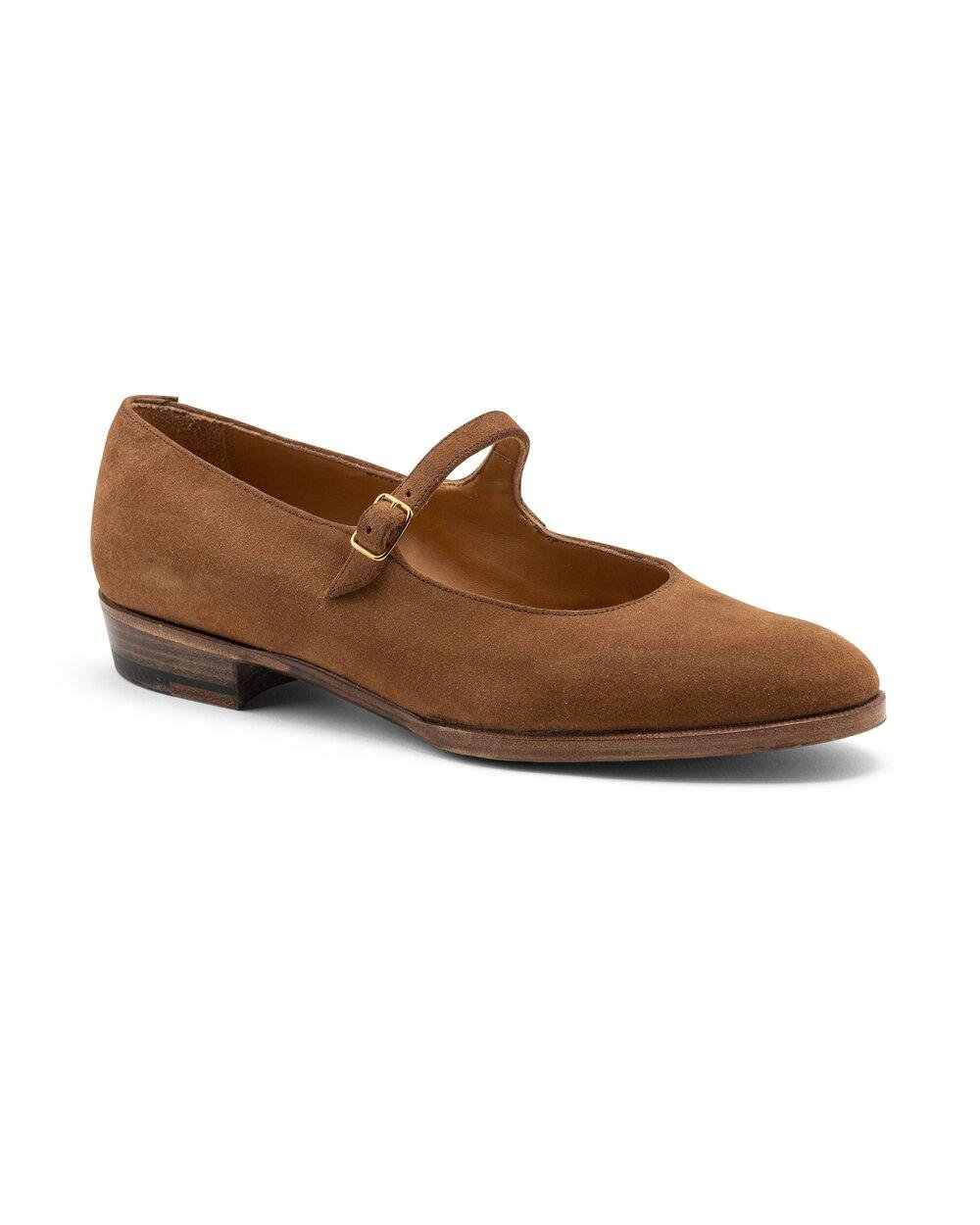 ODPEssentials Classic Mary Jane - Tan Suede 0